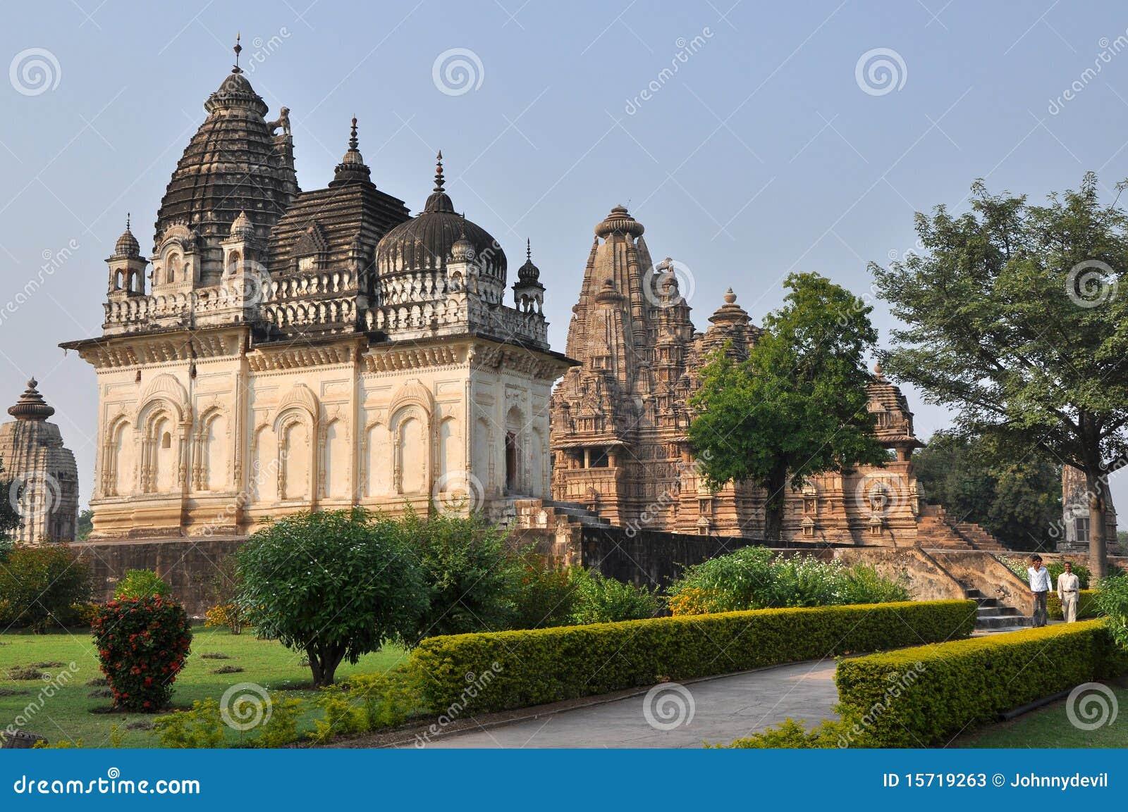 Templos do Brahman em Khajuraho