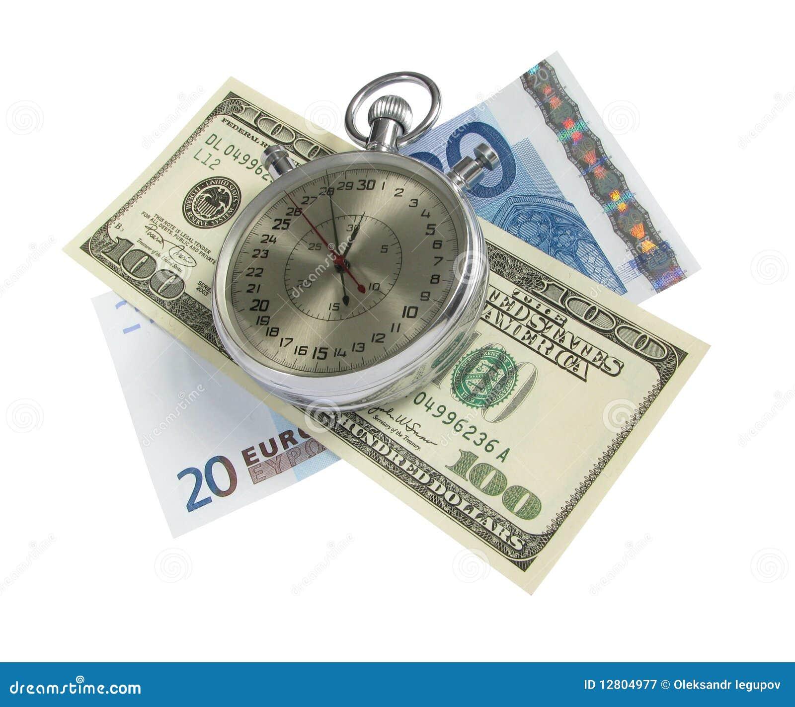 Tempo é dinheiro (com trajeto de grampeamento)