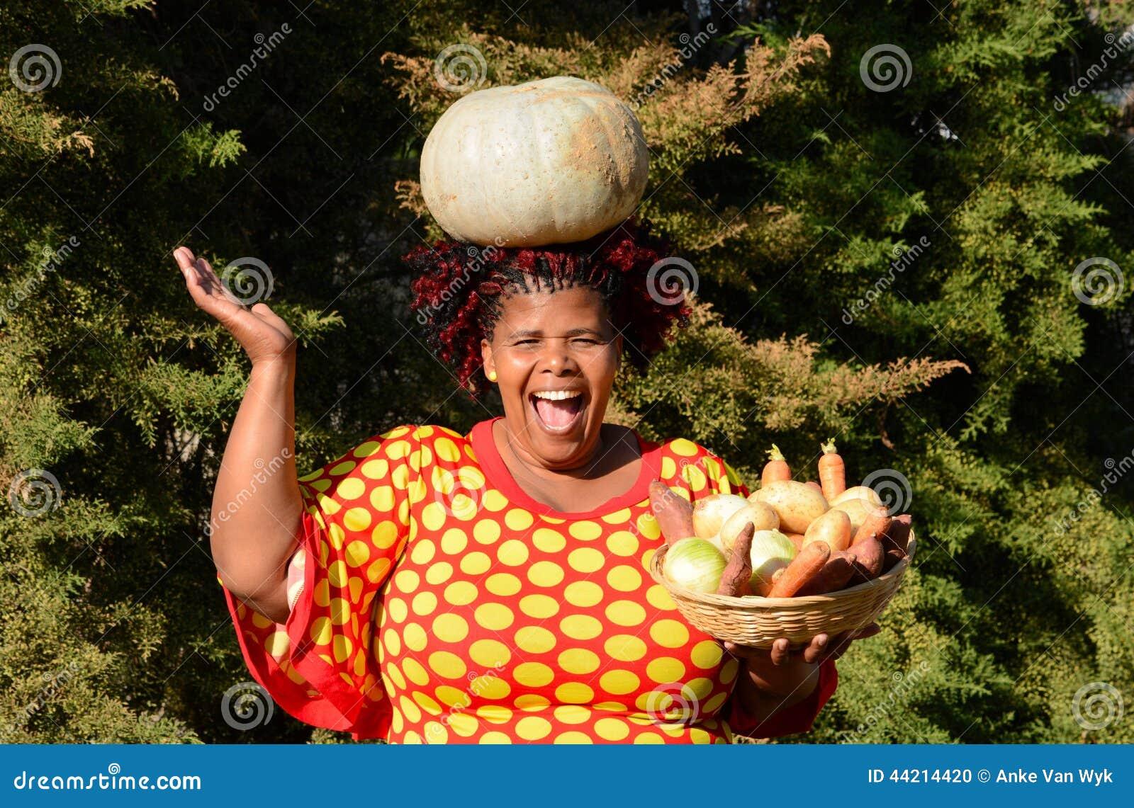 Tempo de colheita feliz