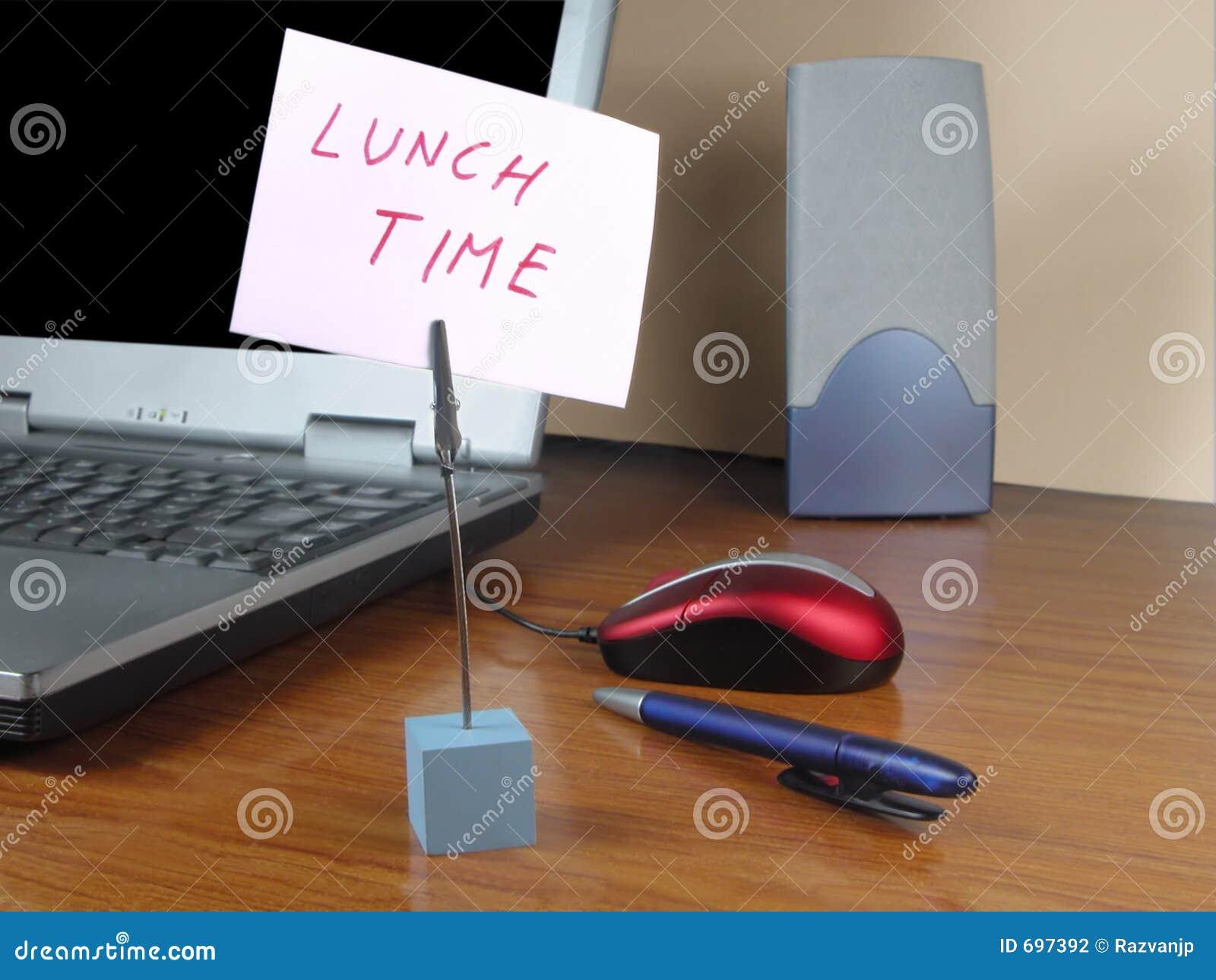 Tempo del pranzo all ufficio