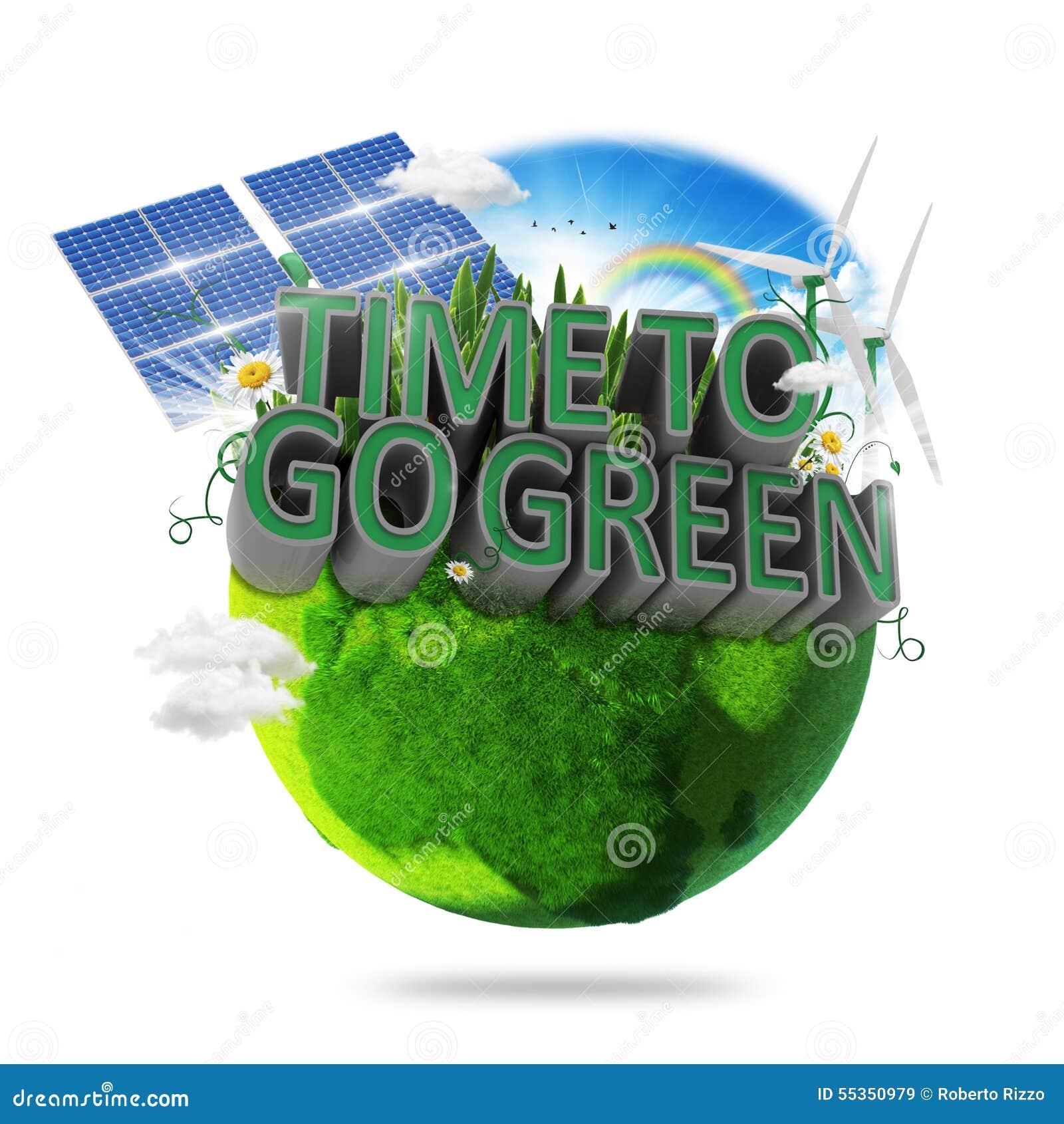 Tempo di andare verde