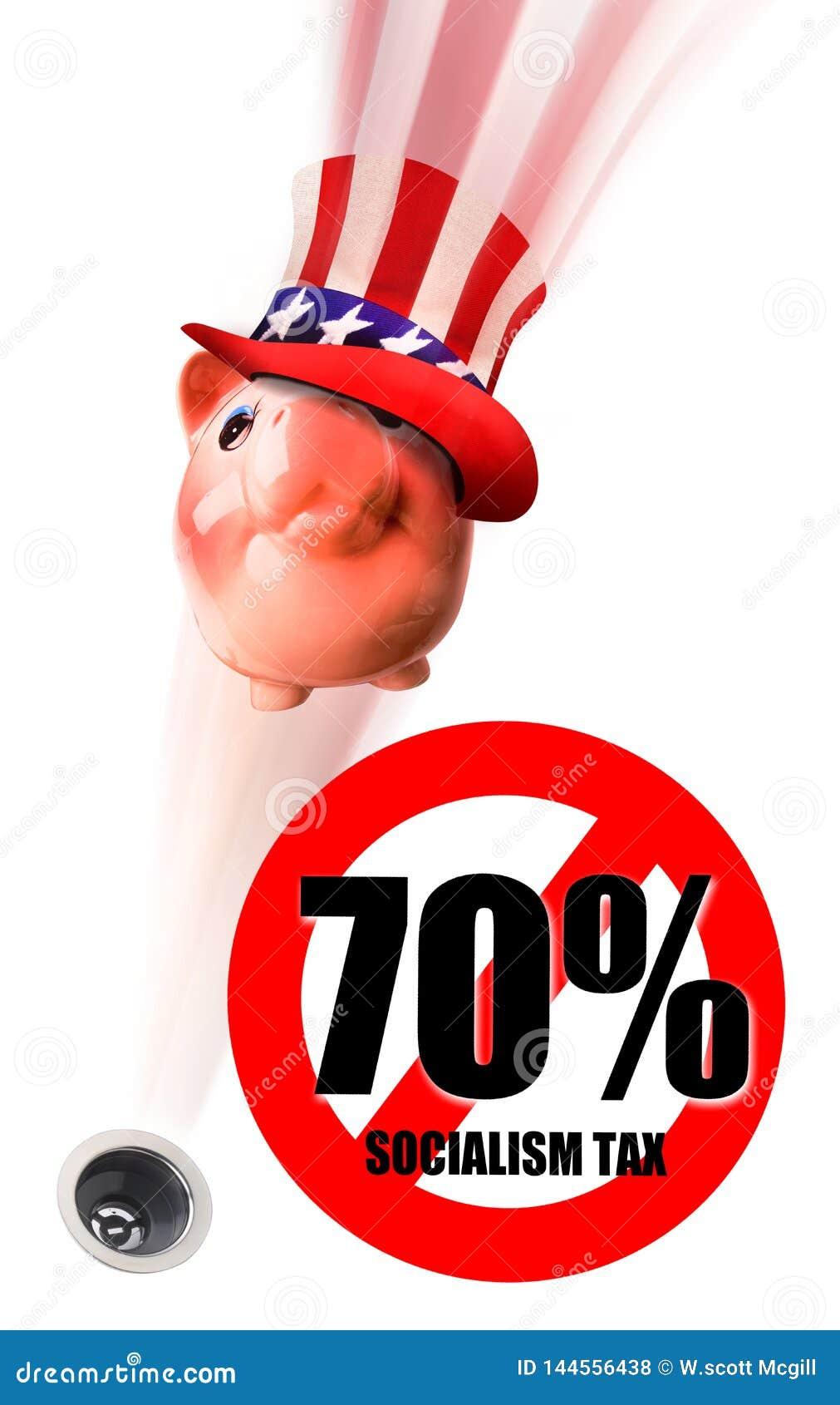 Tempo do imposto para o socialista