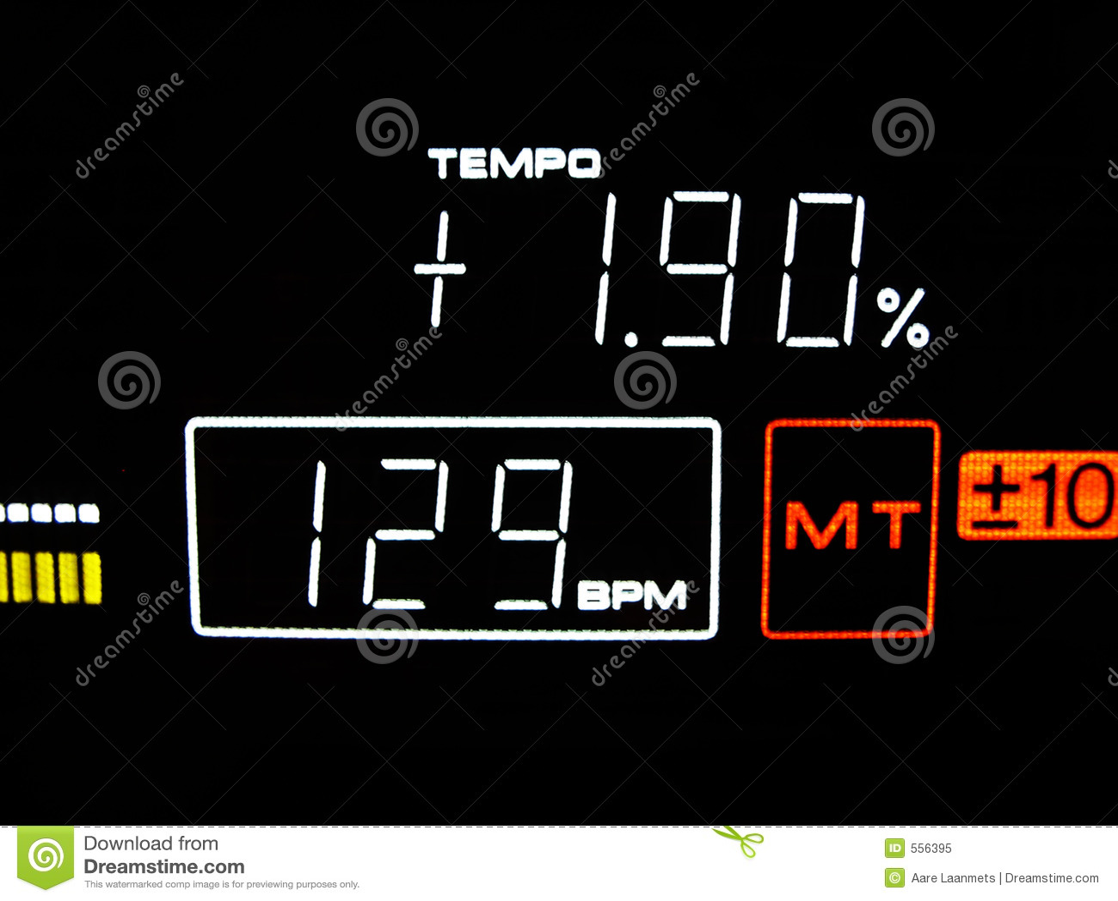Tempo ist 129 BPM