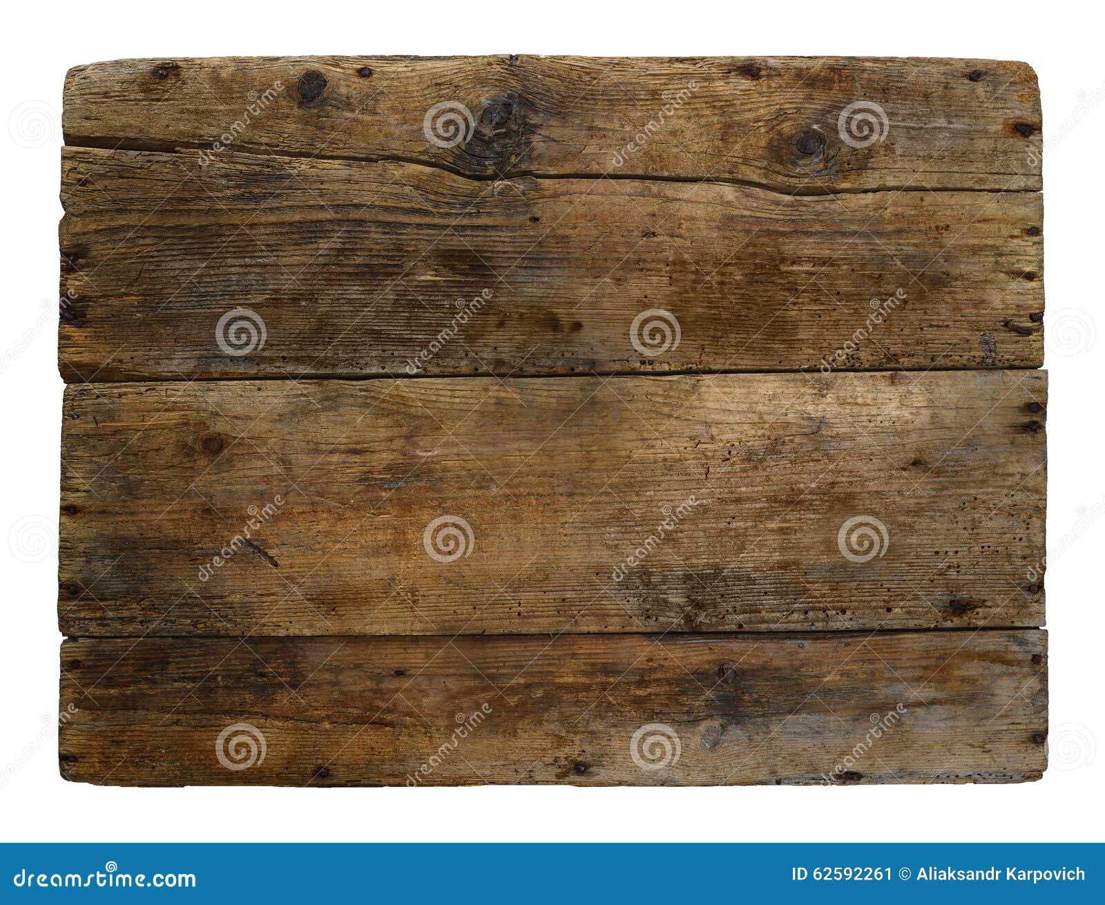 Tempo marcado velho da caixa de madeira