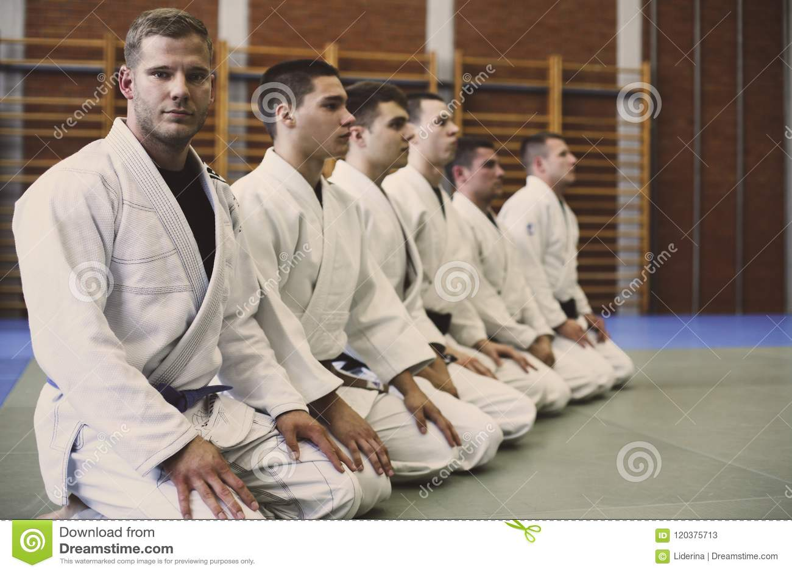 Tempo per la classe di judo