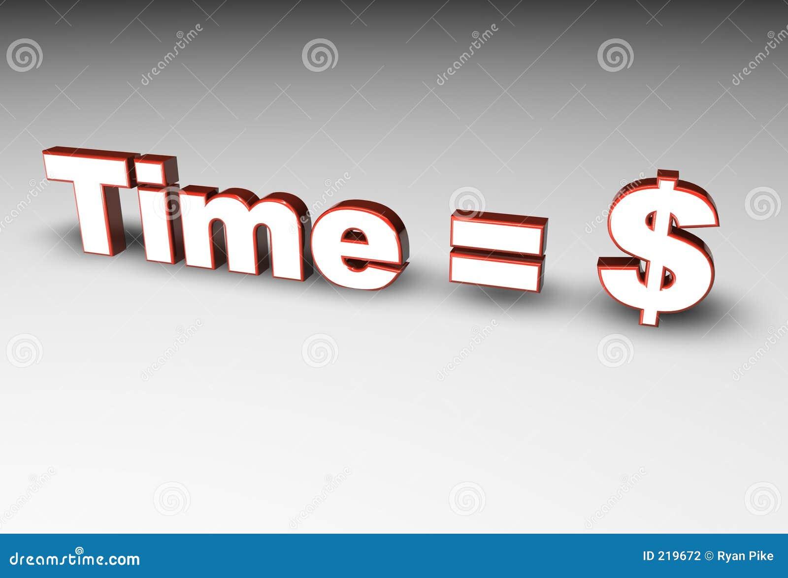 Tempo = soldi