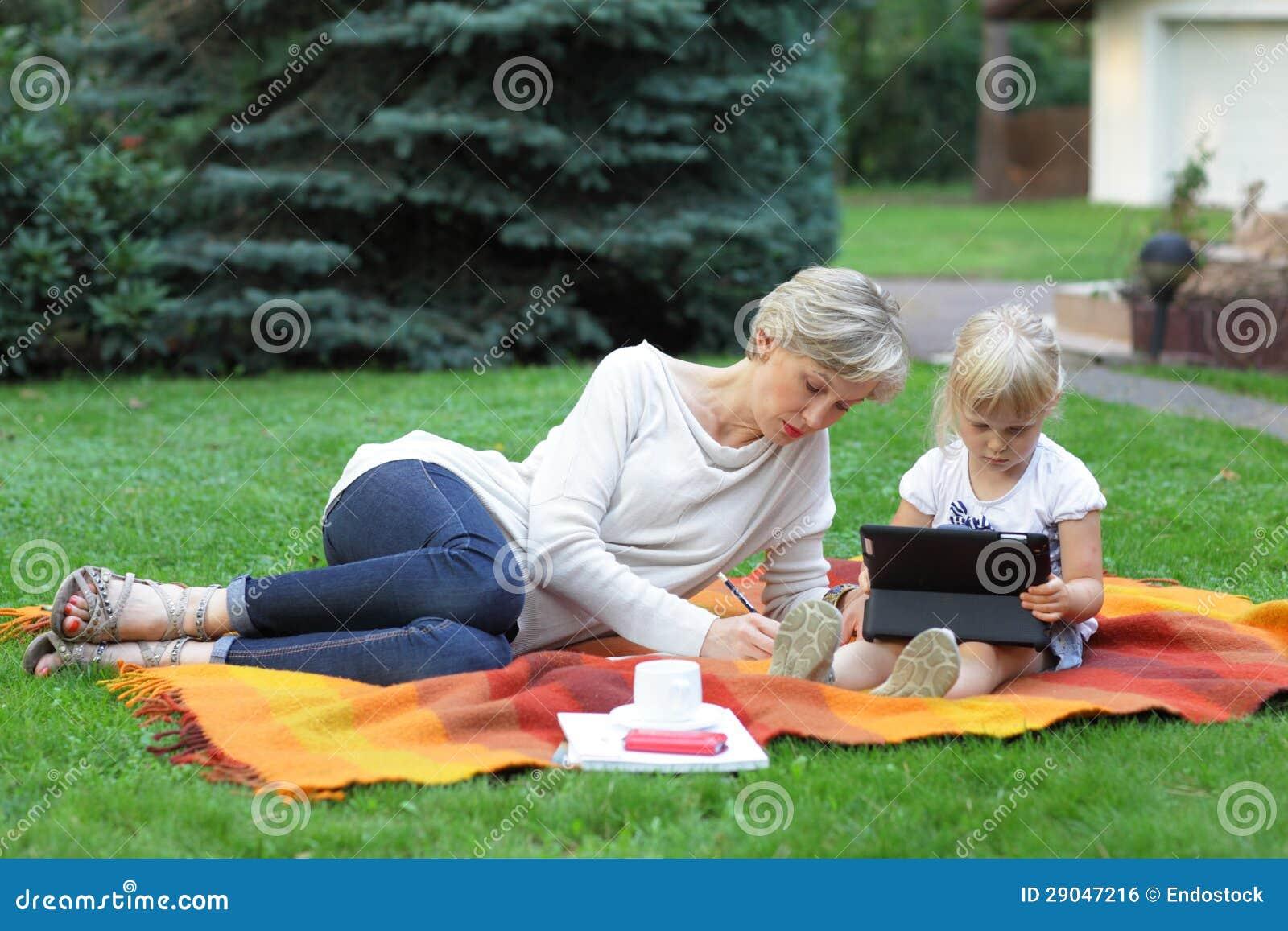 Tempo spendente della figlia e della madre insieme