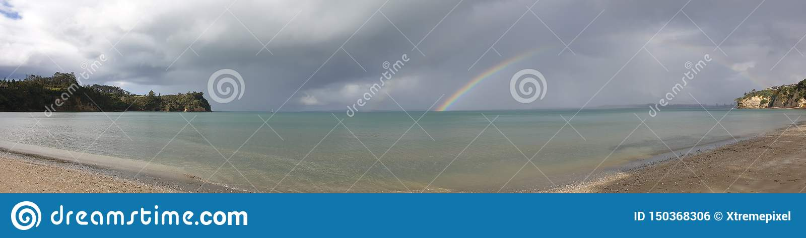 Tempo tempestoso ed arcobaleni