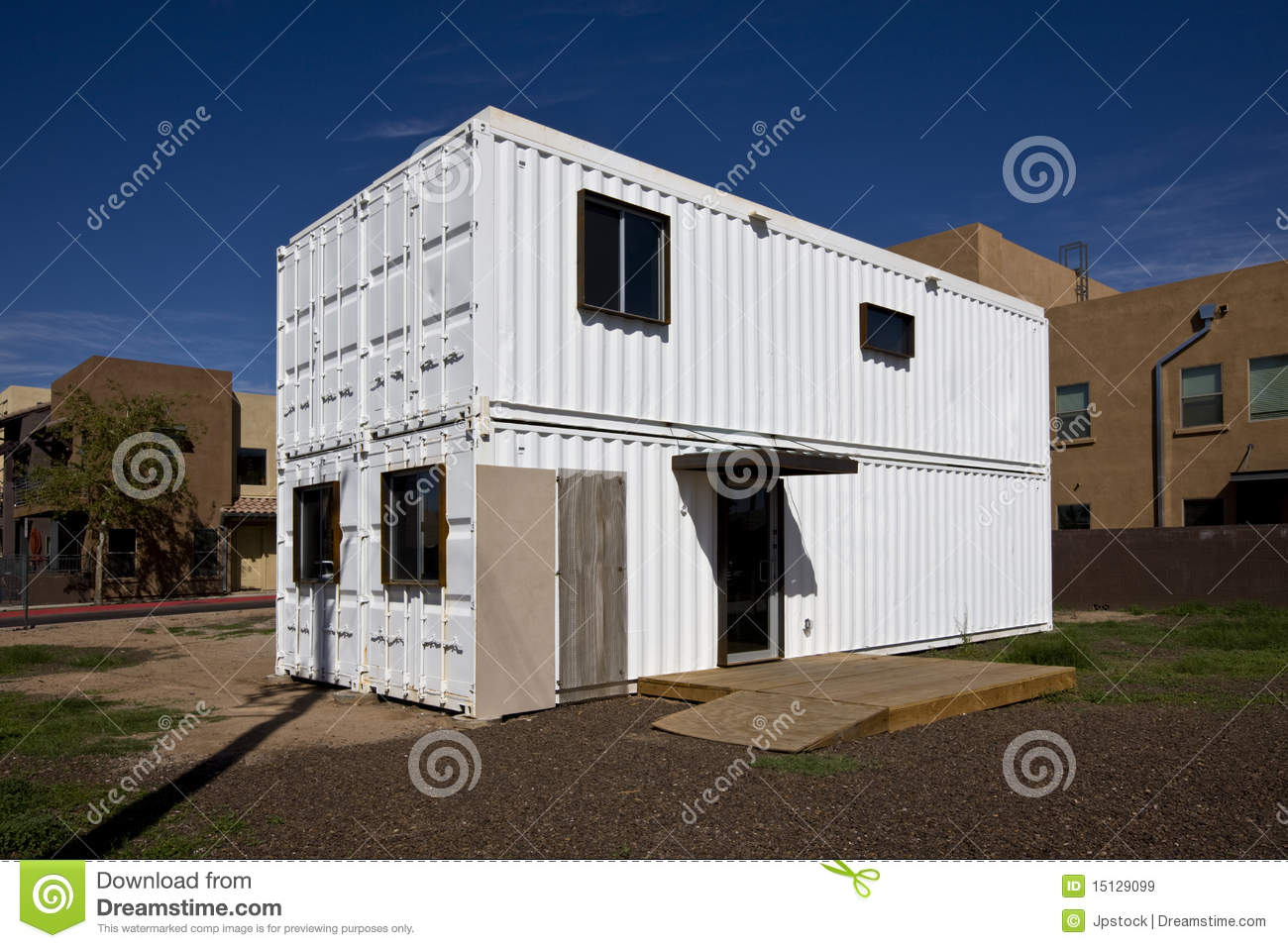 Temporary Housing Royalty Free Stock Images Image 15129099