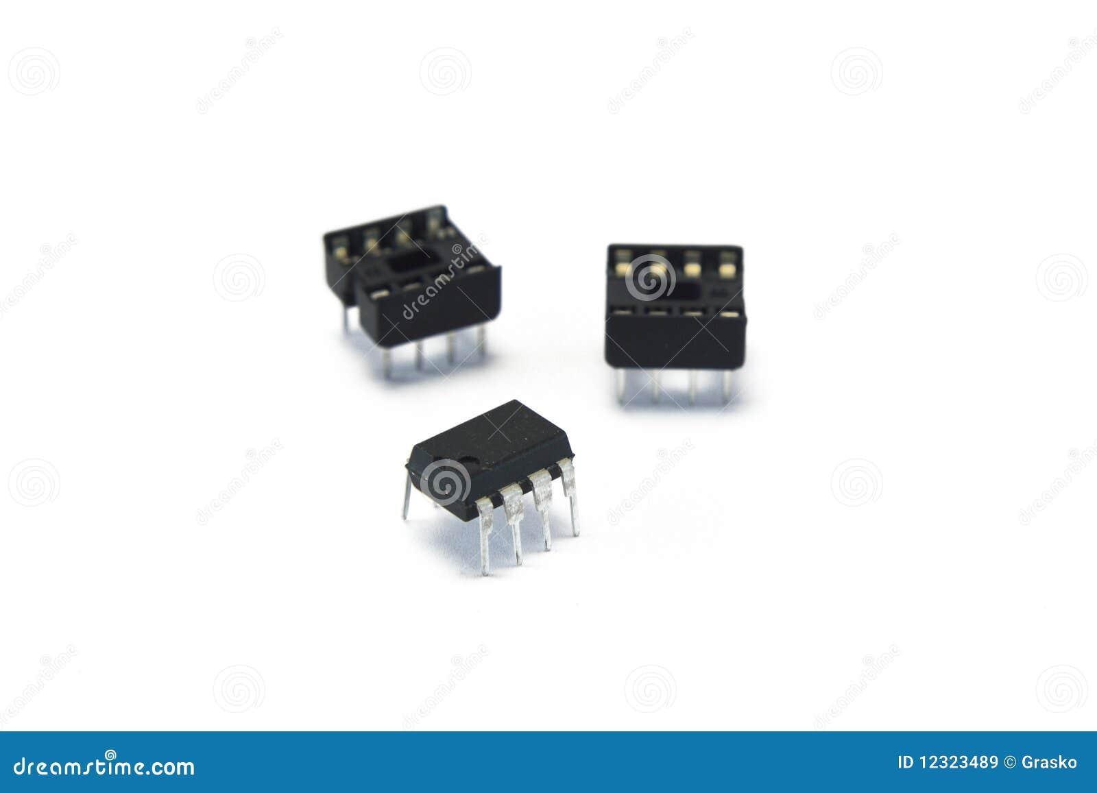 Temporizador 555 da microplaqueta