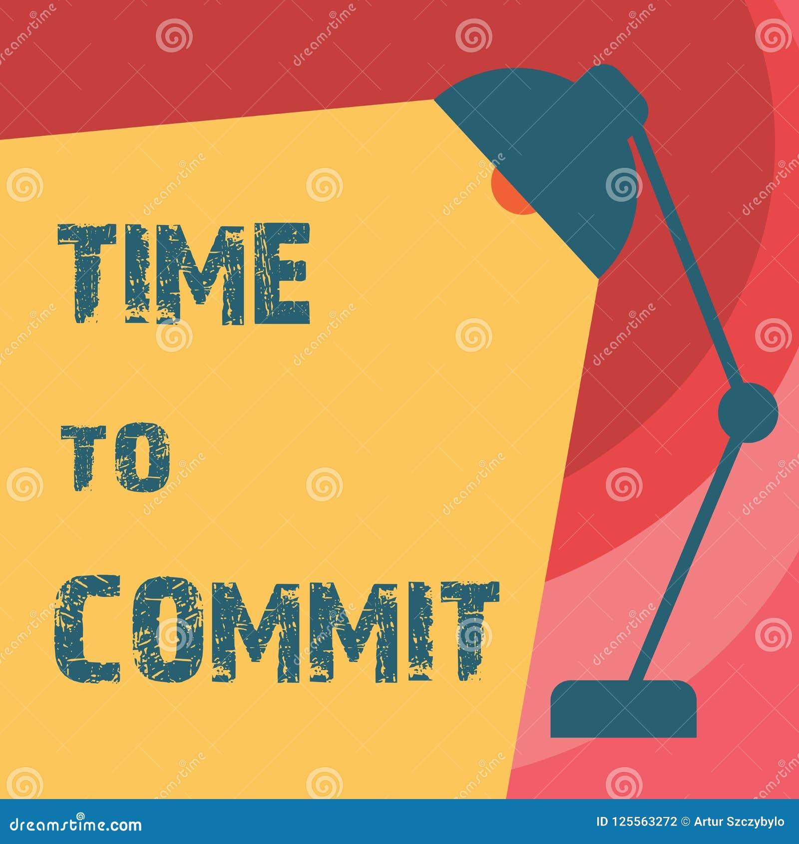 Temps d écriture des textes d écriture de commettre Engagement ou obligation de signification de concept qui limitent la liberté