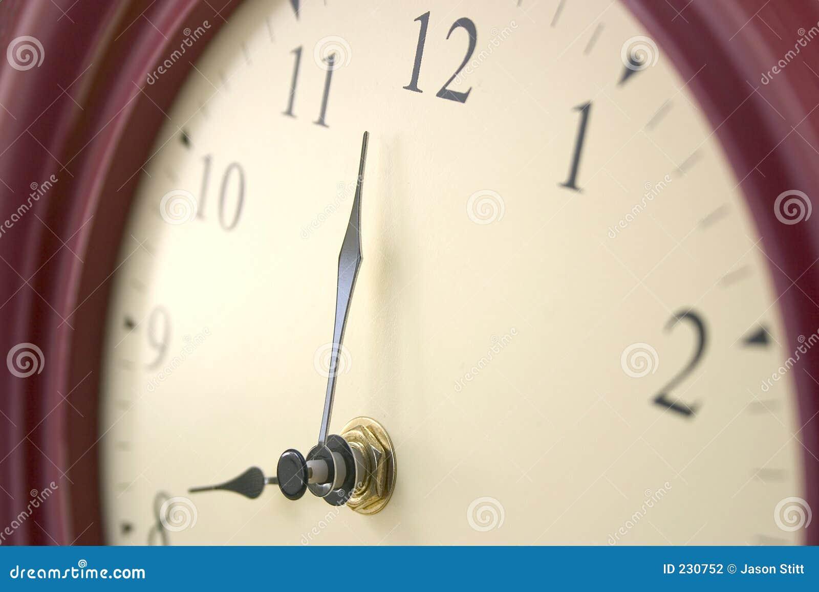 Temps d horloge