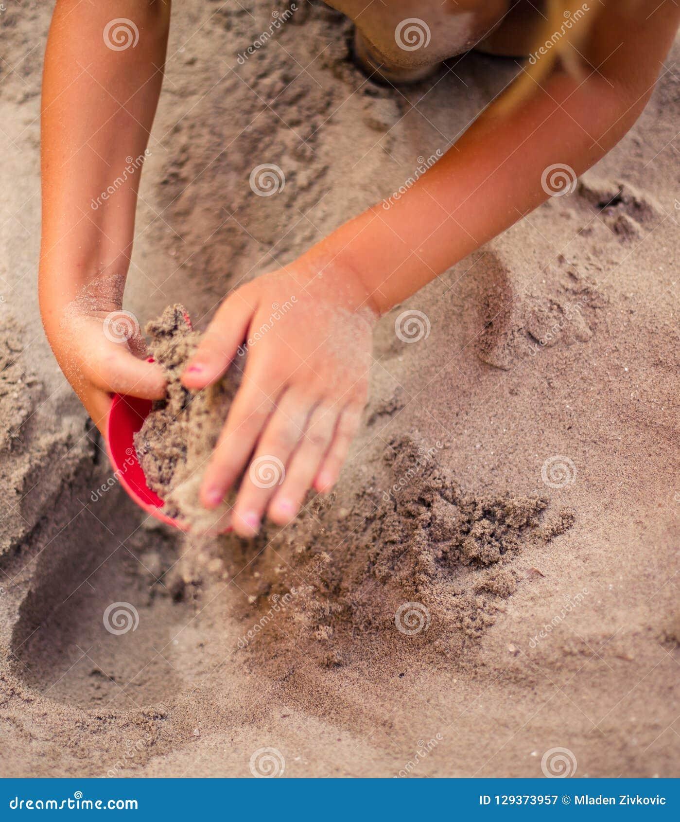 Temps de créativité en sable