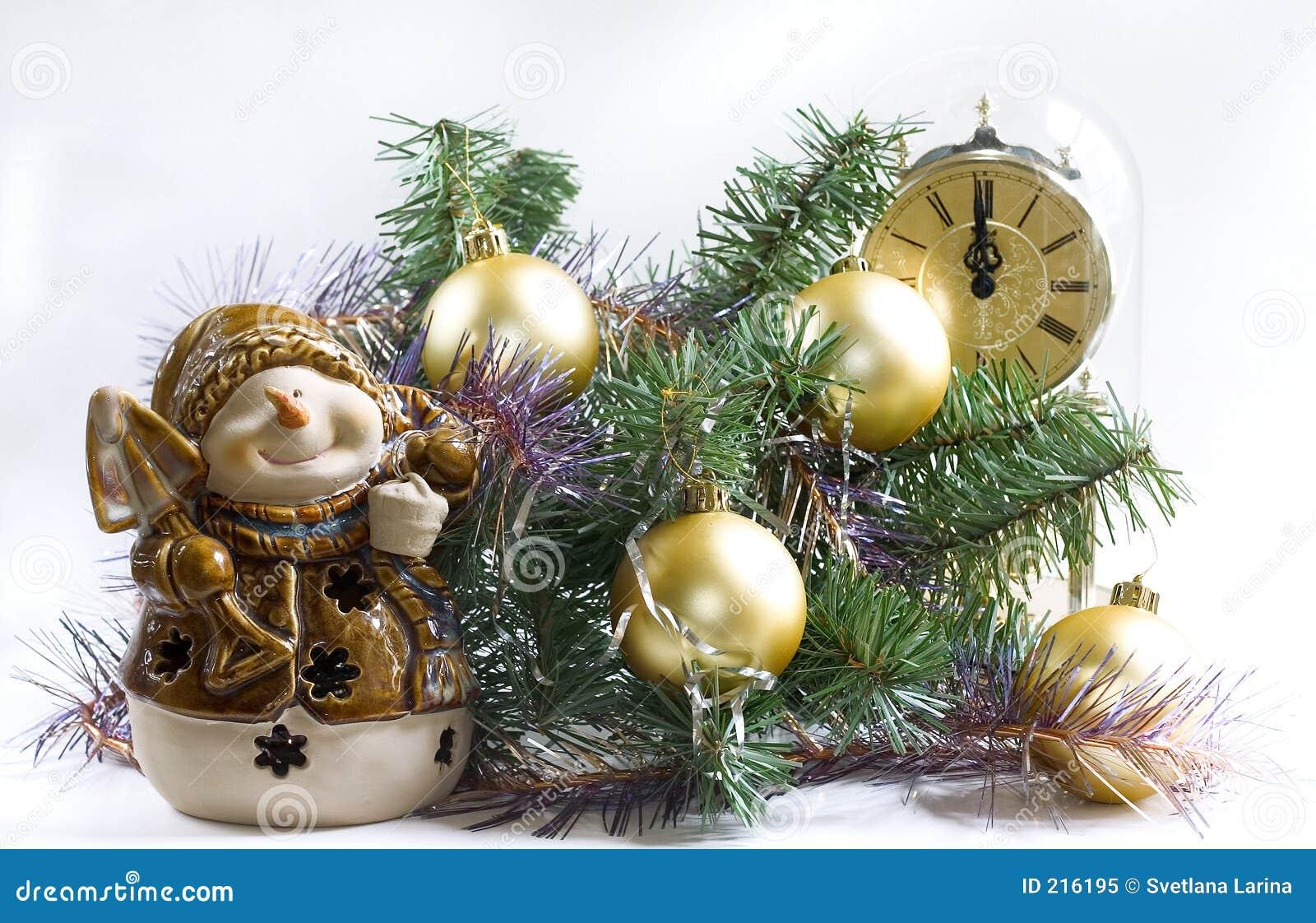 Temps de Noël (3 avec le bonhomme de neige)
