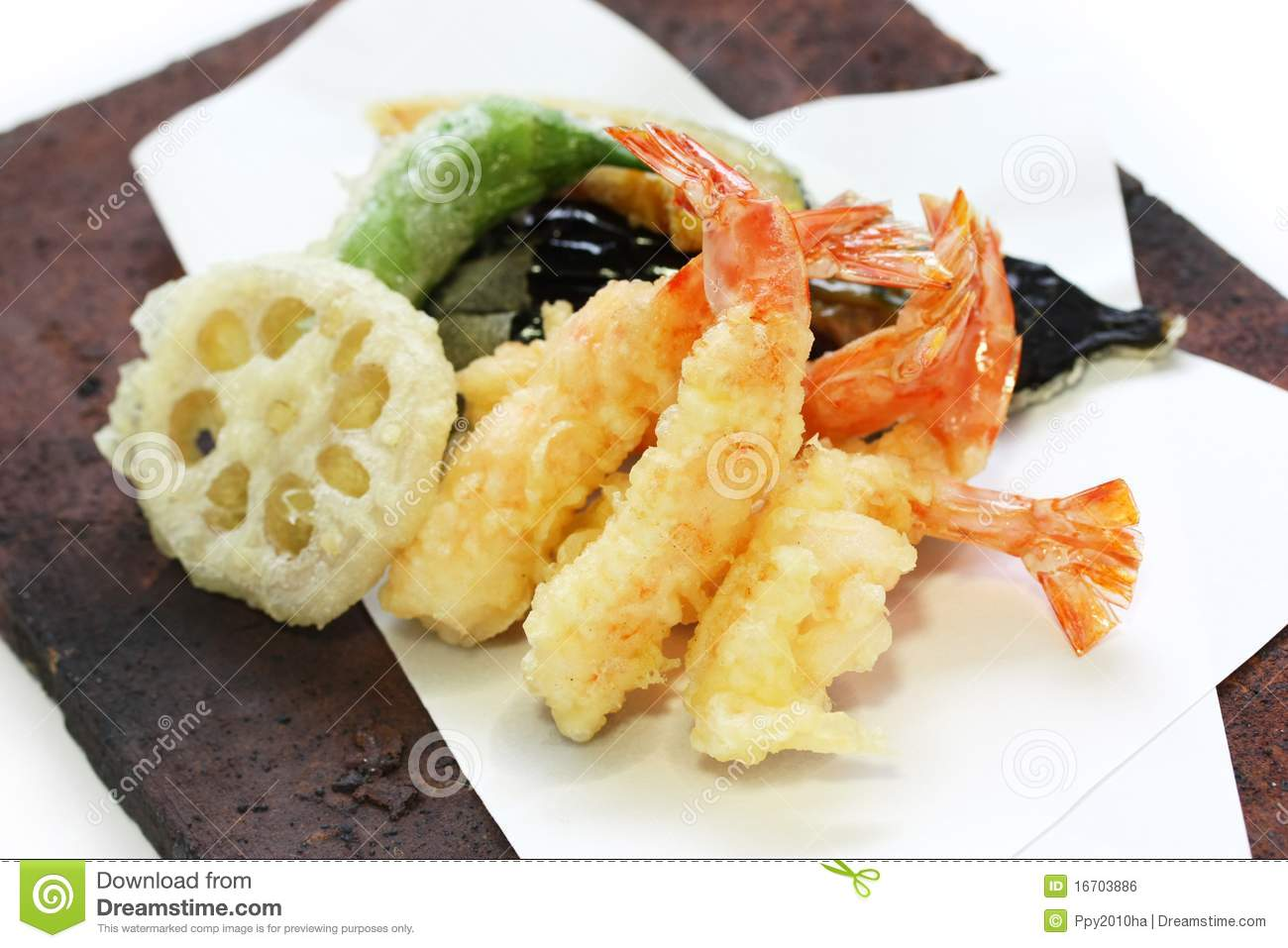 Tempura , Japanese Food Royalty Free Stock Image - Image: 16703886