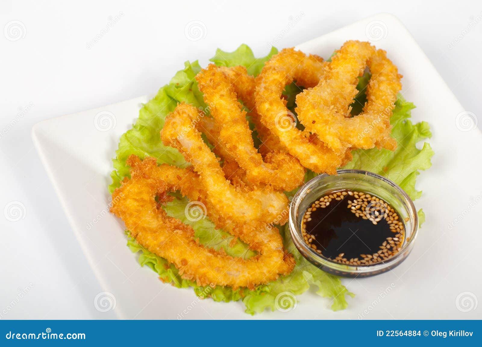 Tempura Squid Recipe — Dishmaps