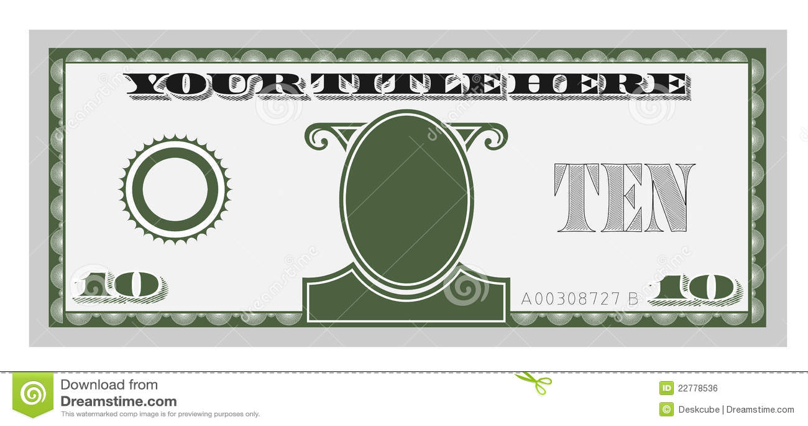 Money Template Editable Www Imgkid Com The Image Kid
