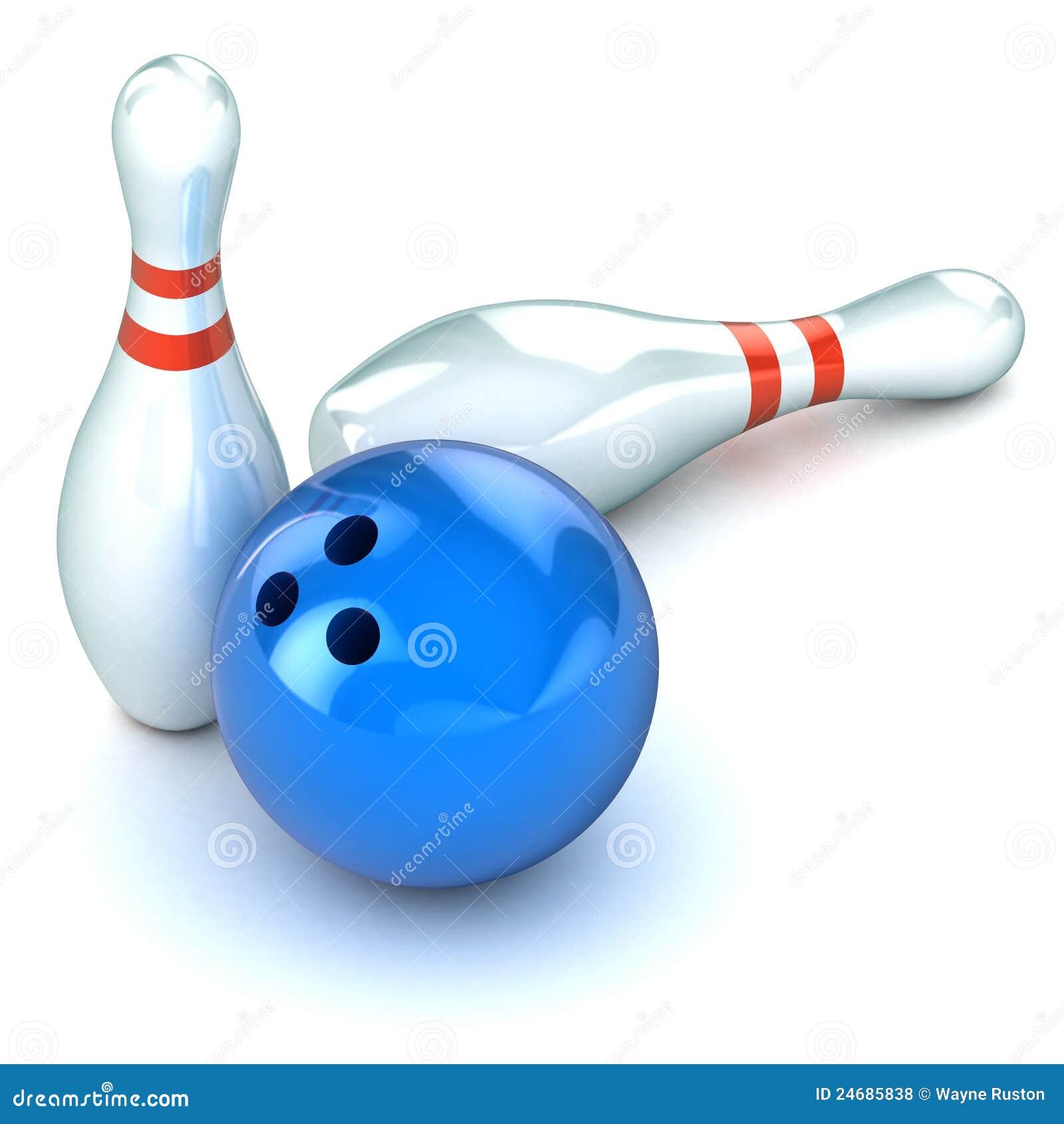 Ten Pin Bowling Illustration Royalty Free Stock Photos ...