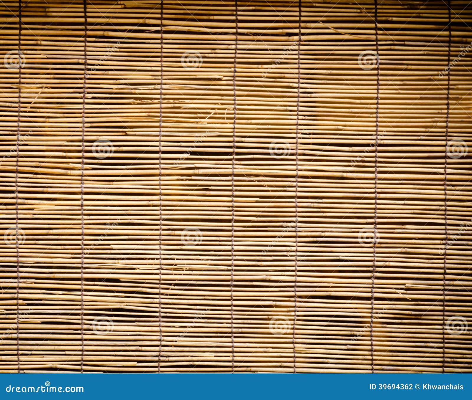 Tenda Di Bambu Fotografia Stock Immagine Di Rattan Retro 39694362