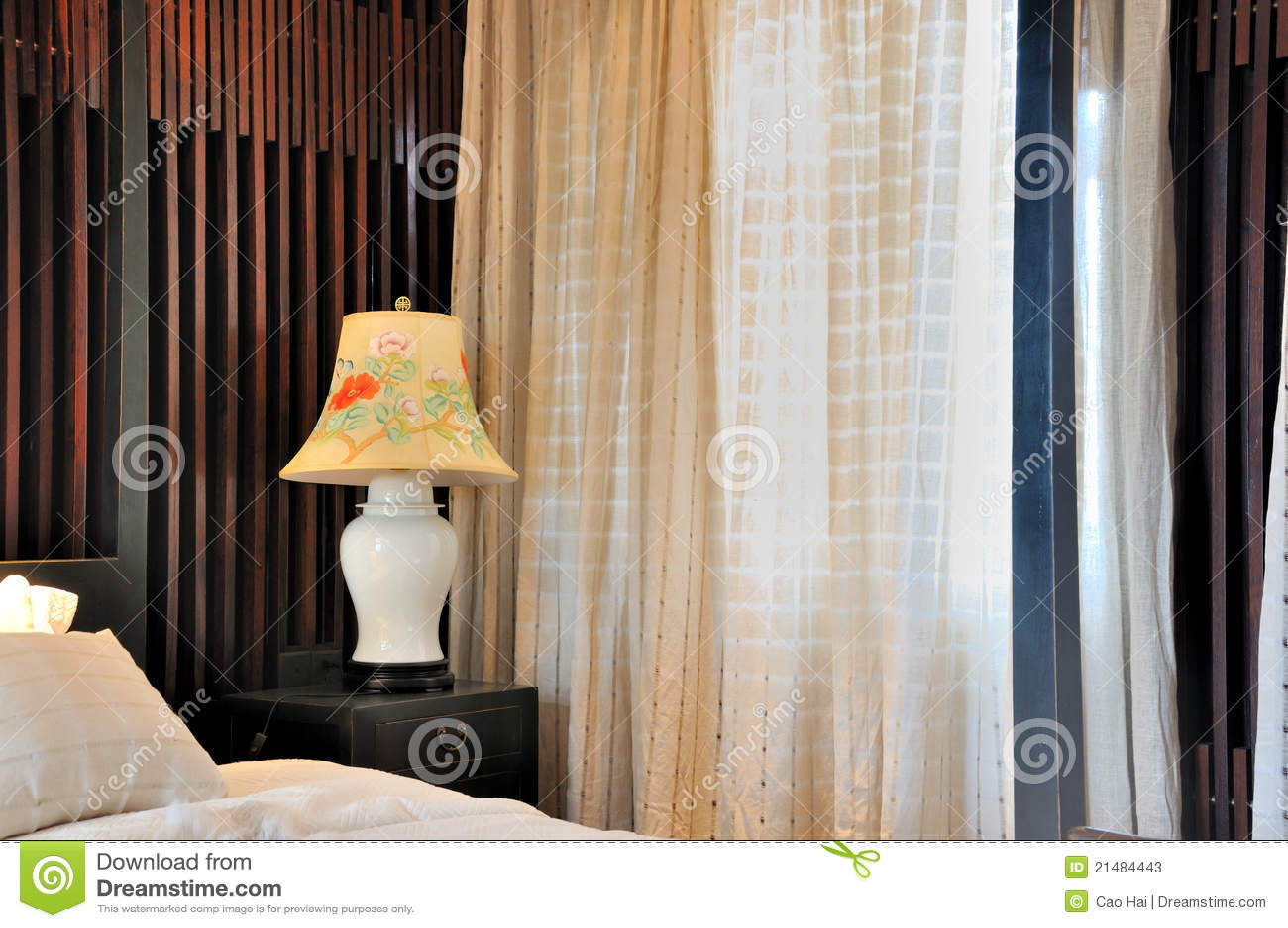 Piccola da letto Camera decorazione : Decorazione Di Camera Da Letto : Tenda di finestra e decorazione fine ...