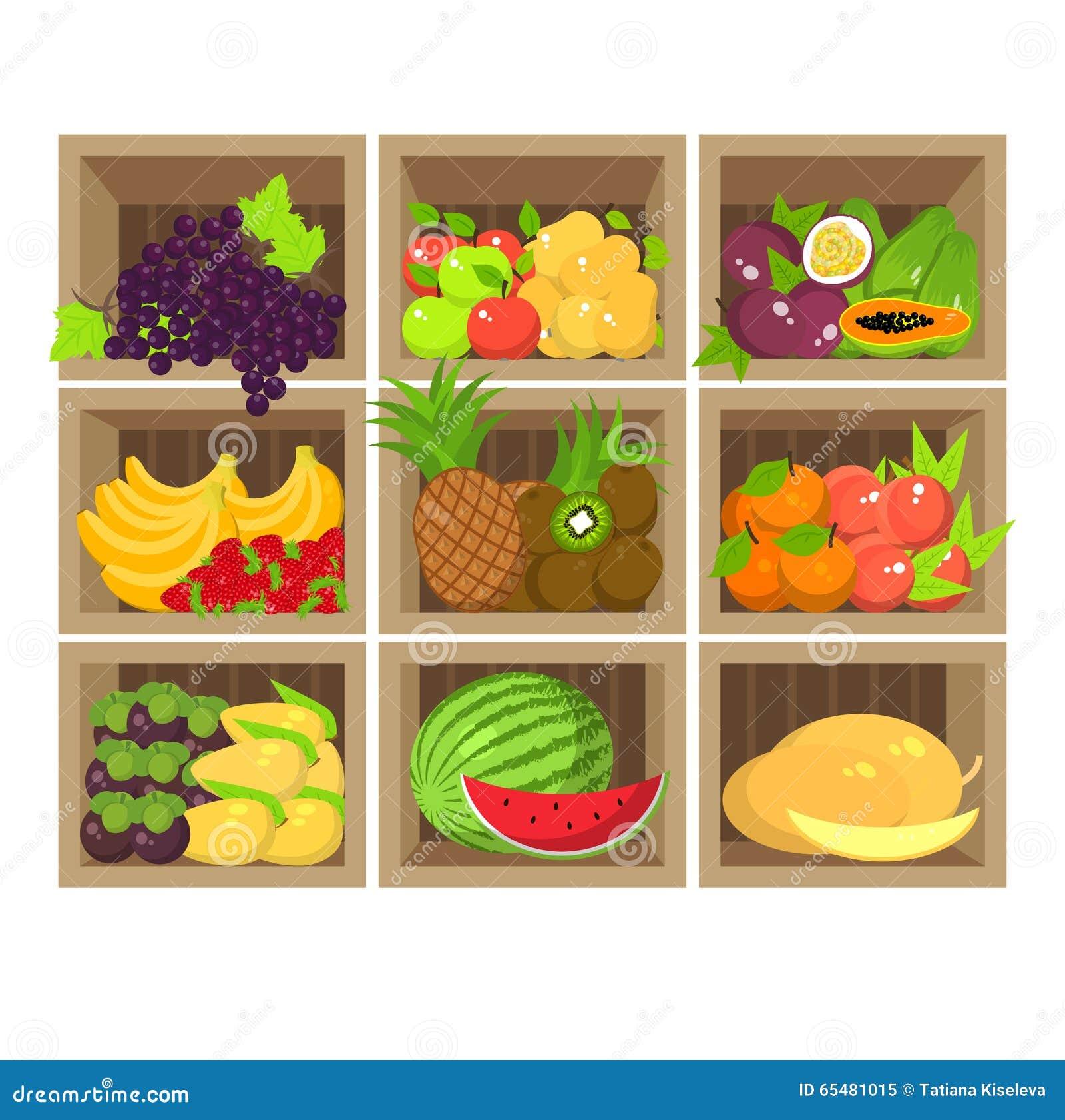 Tenda local do fruto Loja de alimento biológico fresca