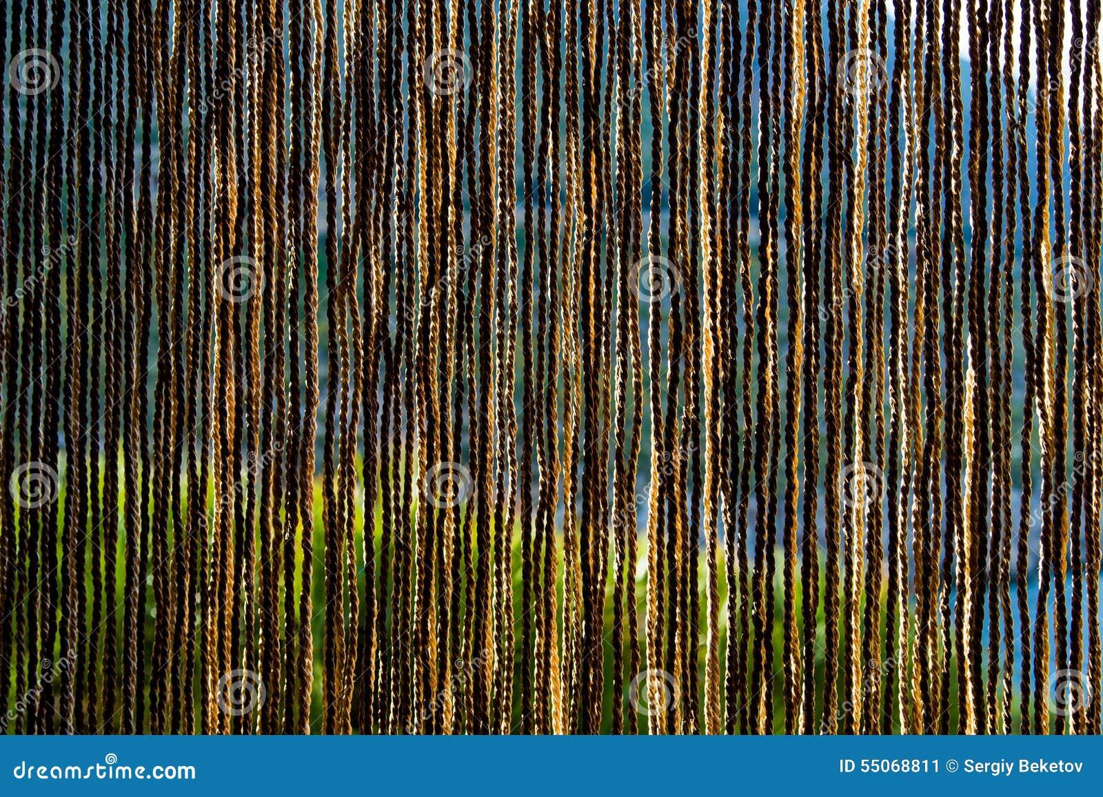 tende fatte di paglia naturale fotografia stock - immagine: 55068811