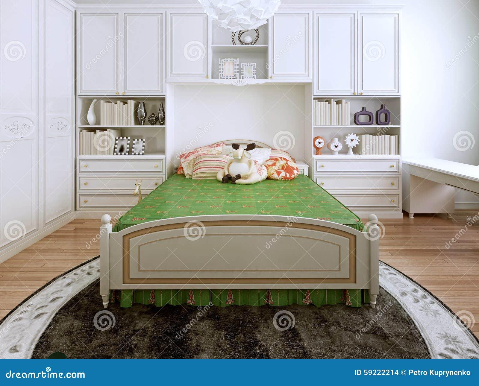 Tendencia Cl Sica De La Alcoba Foto De Archivo Imagen 59222214 # Muebles Laalcoba