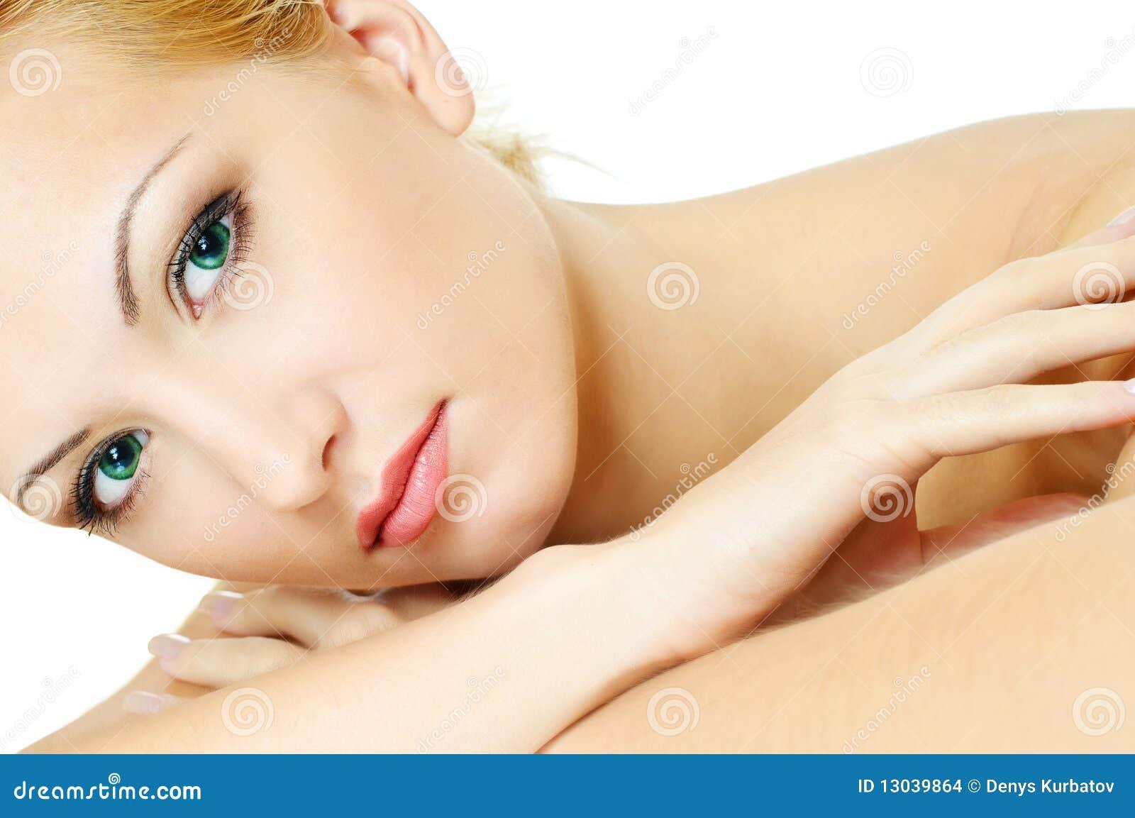 Creative Fashion. Female Tender Beauty Stock Image - Image