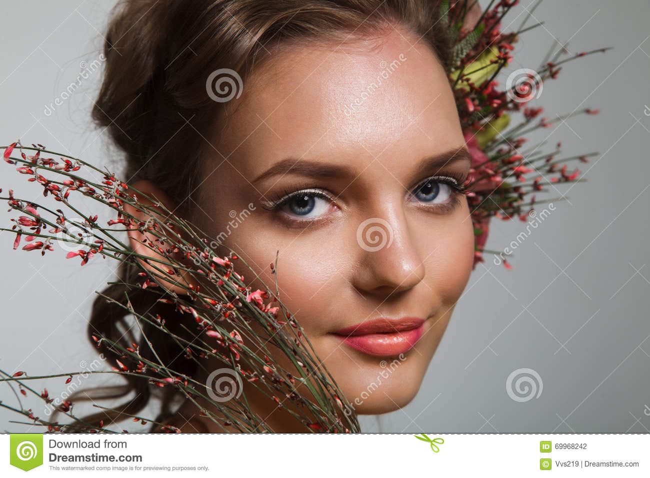 Tender beauty stock photo. Image of complexion, clean
