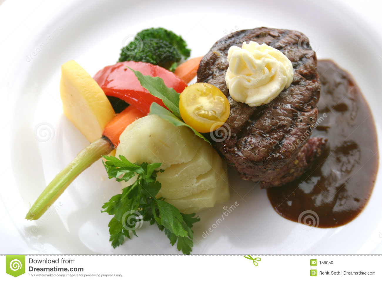 Tenderloin Steak Dinner