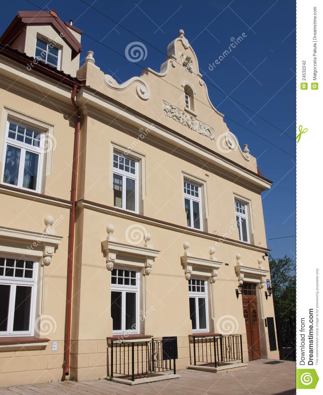 Tenement House Lublin Poland Stock Photography Image 24532242