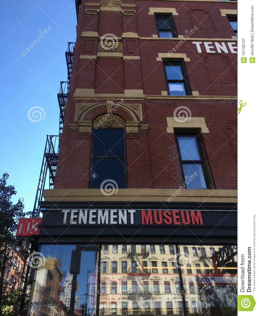 New City Ny Rentals: Tenement Museum, New York City Editorial Photography