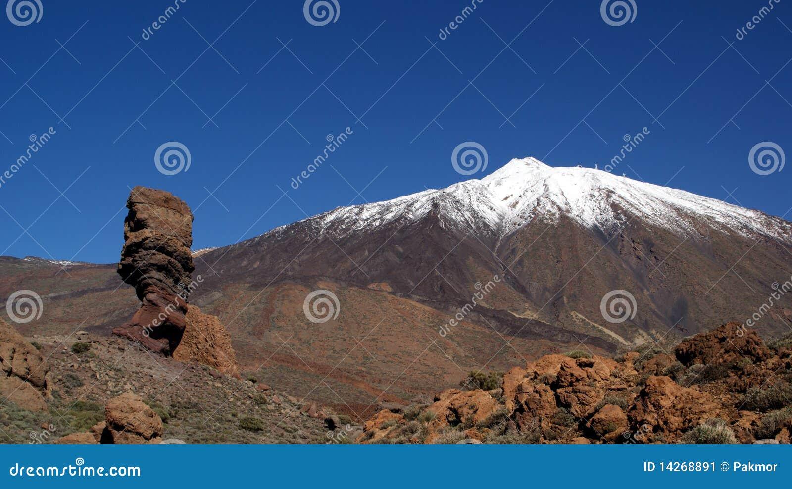 Tenerife teide της Ισπανίας Κανάριων νη