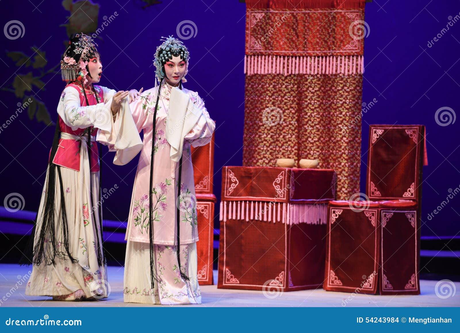 """Tenga la idea de escaparse con un amante-Kunqu el  del oeste de Chamber†del """"the de la ópera"""