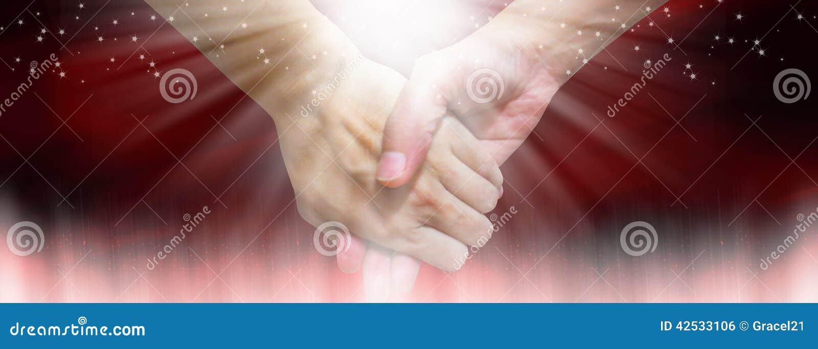 tenir la main lors de la datation