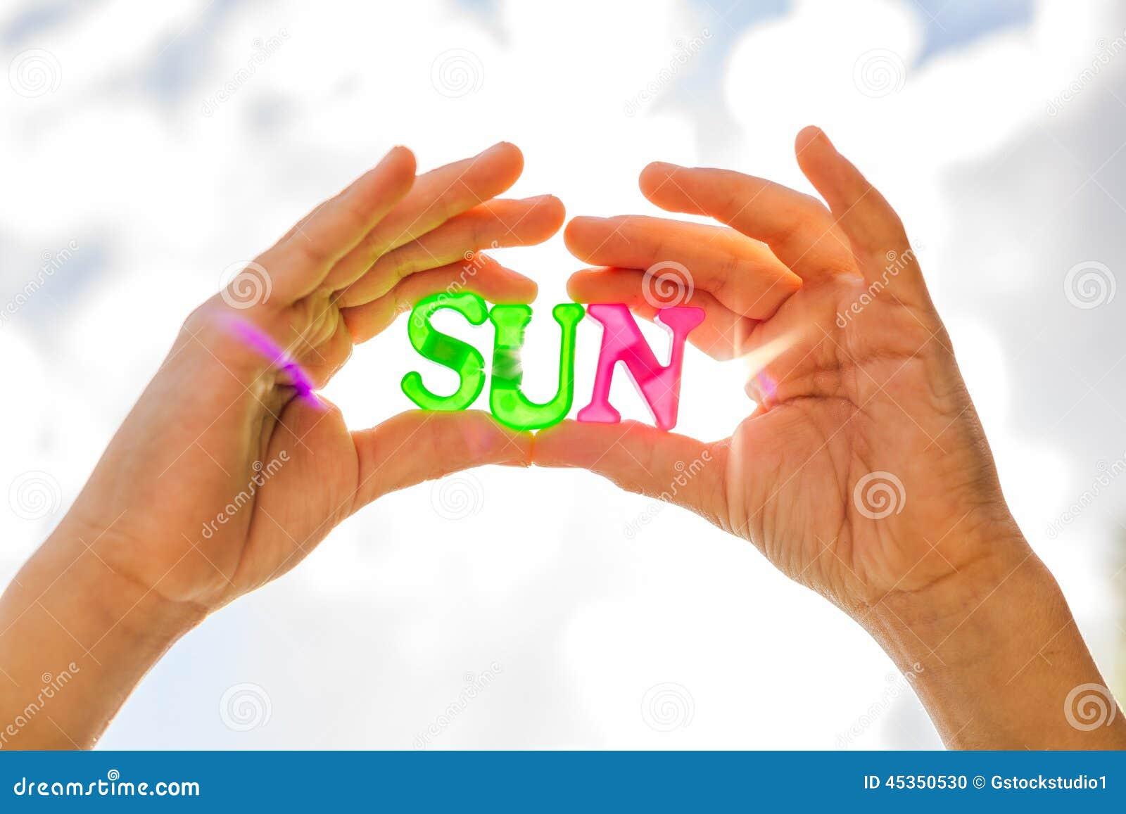 Tenir le soleil dans des mains