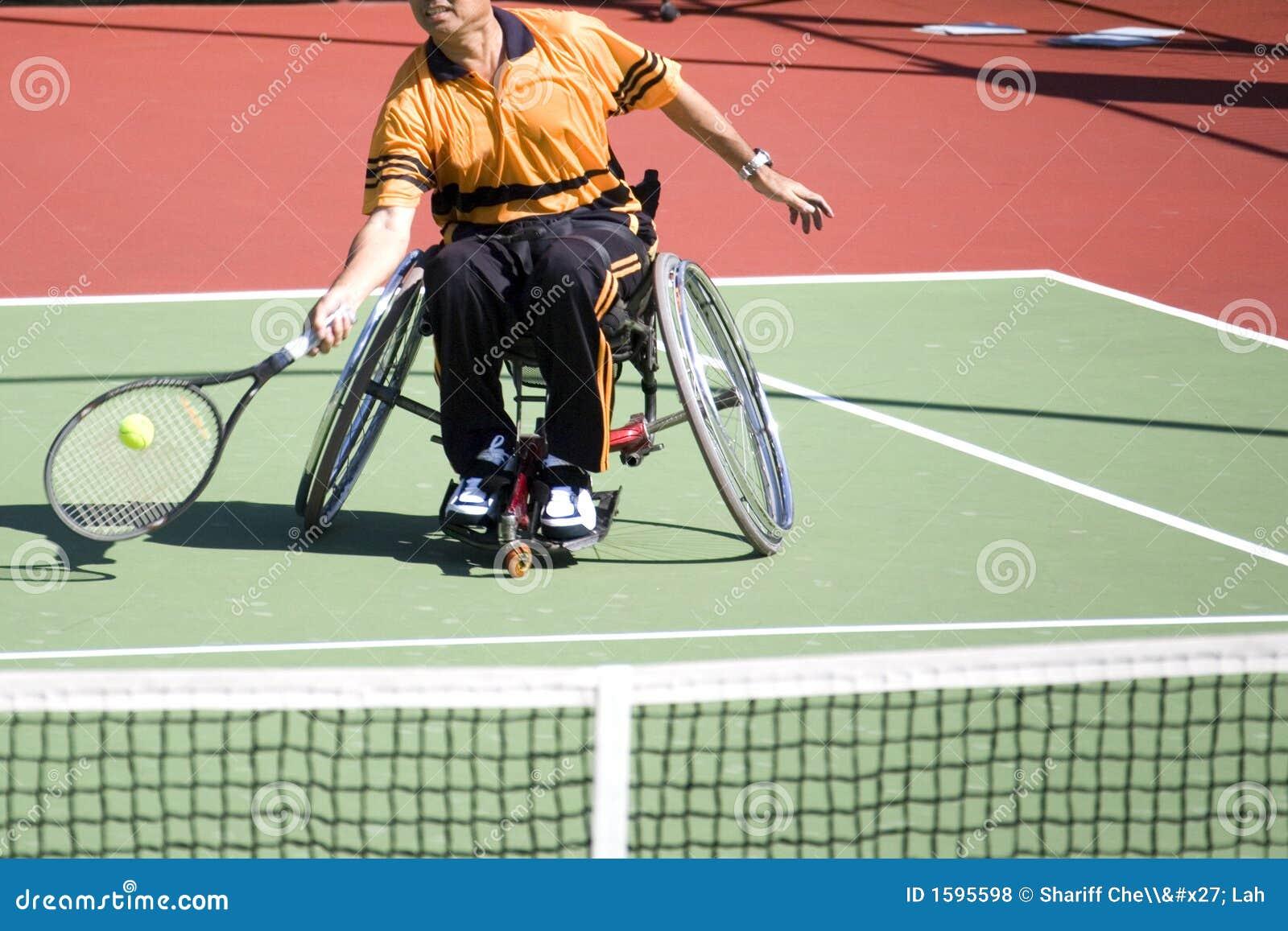Tenis de la silla de rueda para las personas lisiadas (hombres)