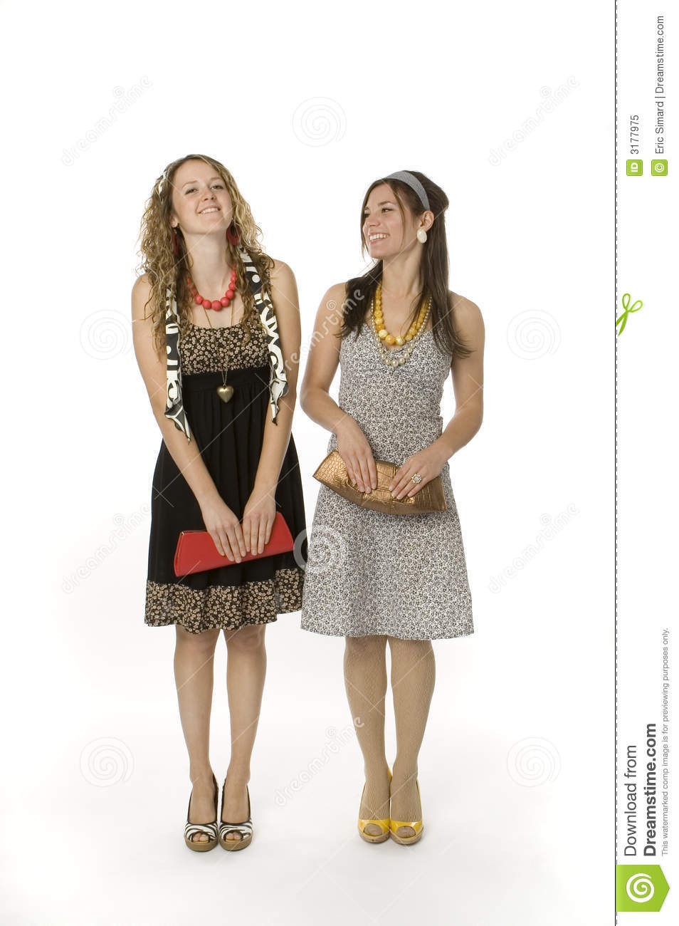Tennage Girls Fashion Royalty Free Stock Photo Image 3177975
