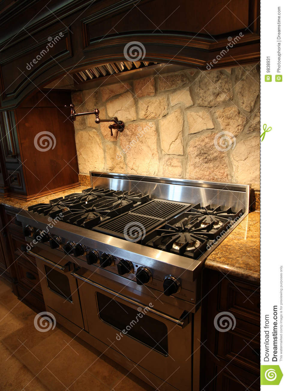 tennesee home gas stainless steel stove and oven