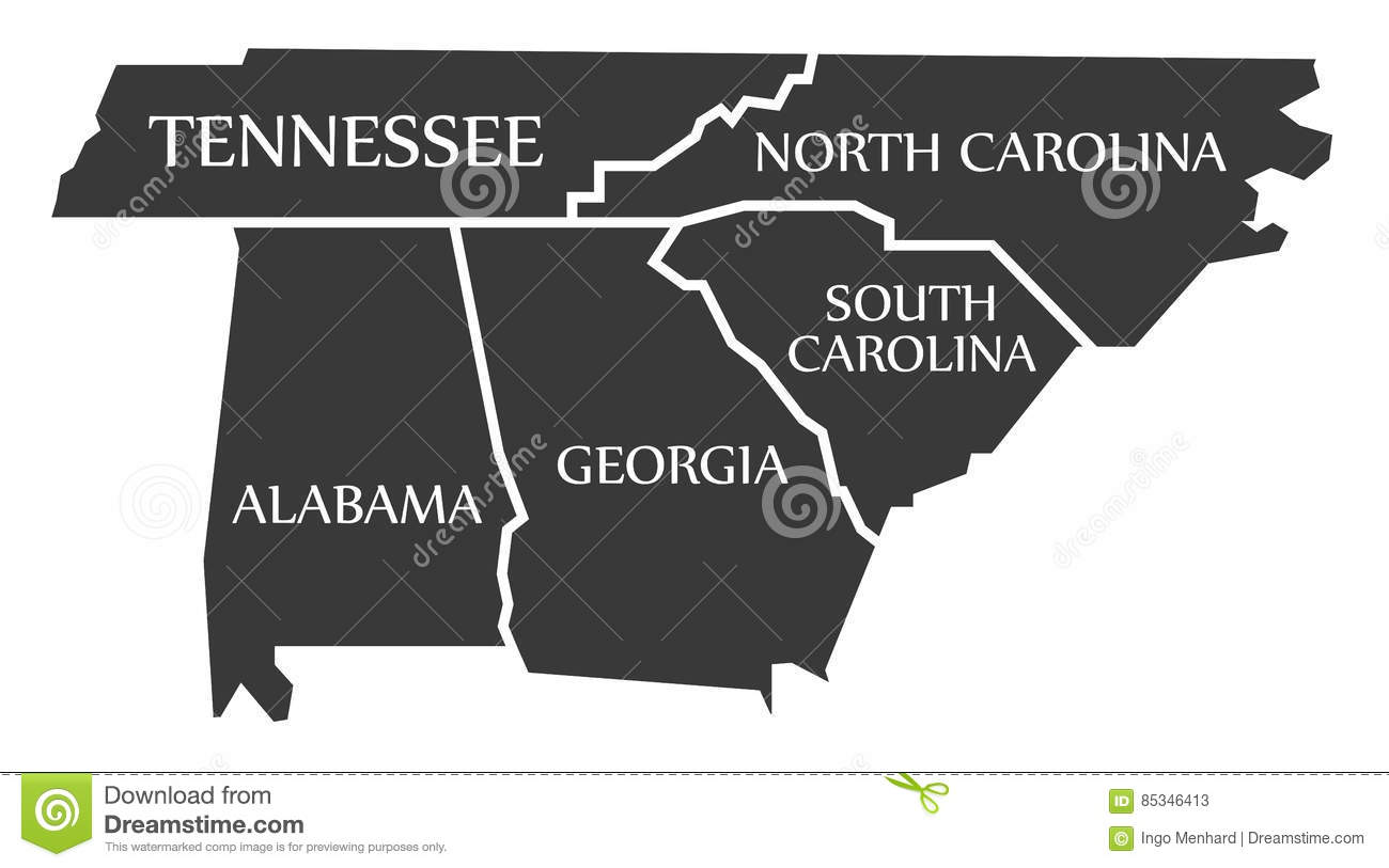 Tennessee - North Carolina - Alabama - Georgia - South ...
