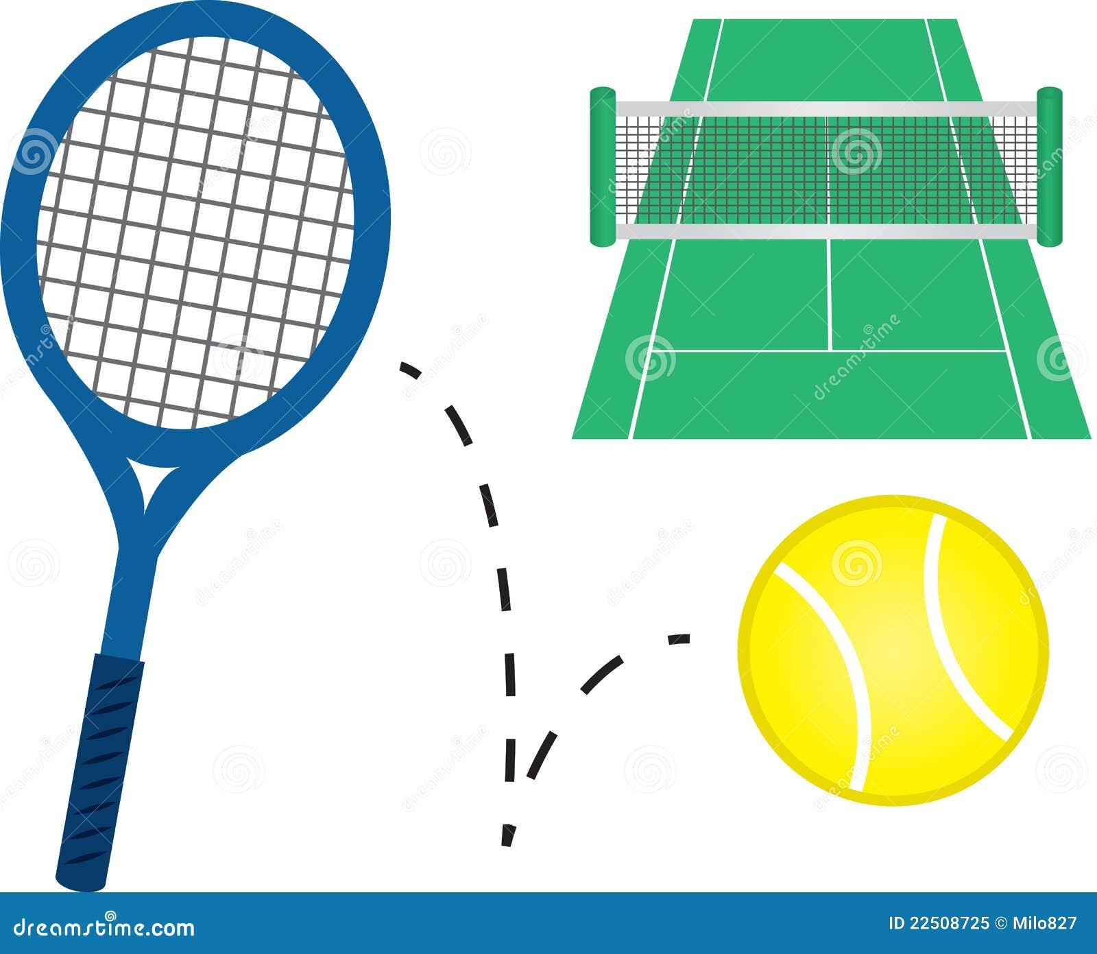 new arrival 951e3 e75e2 Tennis-Ausrüstung vektor abbildung. Illustration von ...