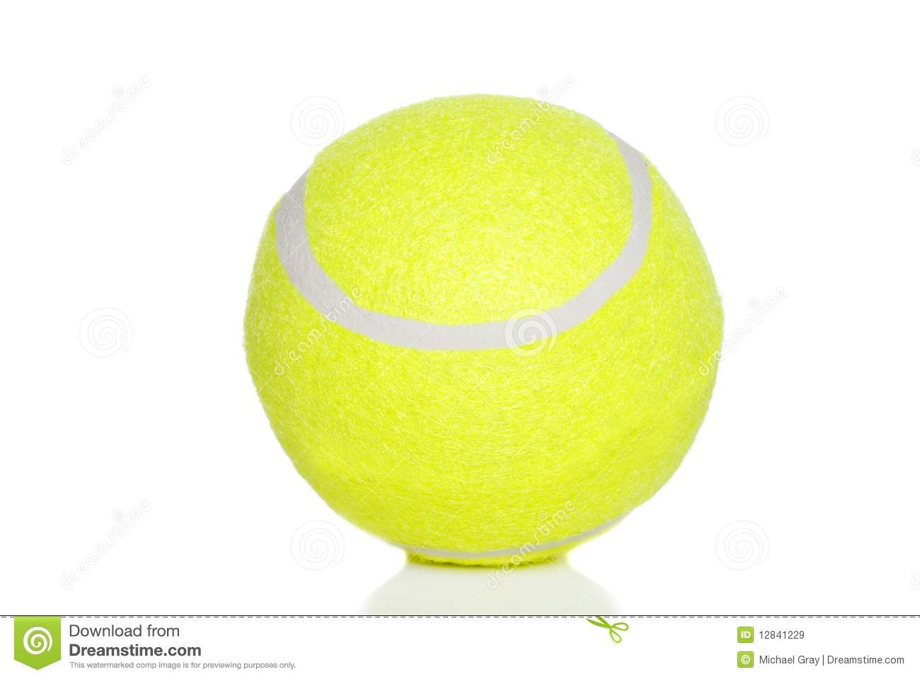 Tennis Ball Royalty Free Stock Images - Image: 12841229