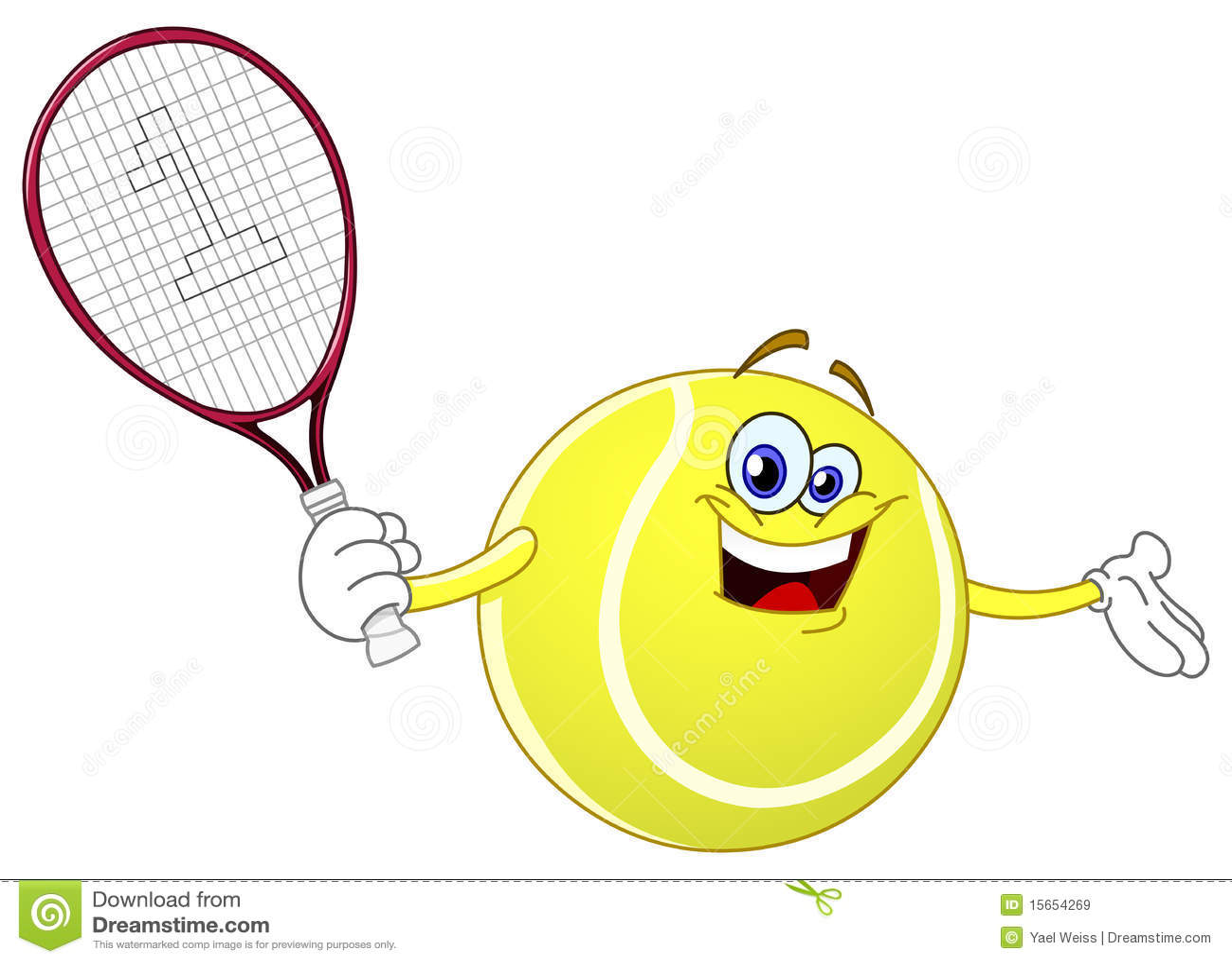Tennis Ball Stock Vector Illustration Of Ball Object 15654269