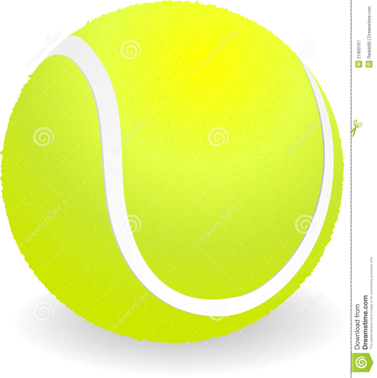 Royalty Free Stock Photography: Tennis Ball. Image: 21900167