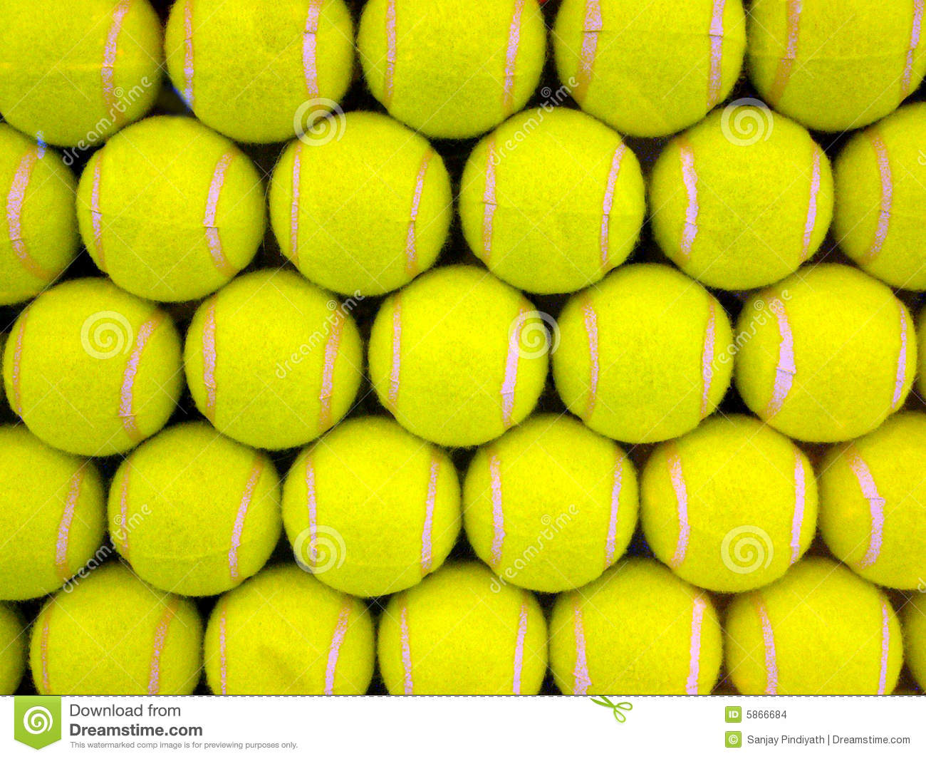 Tennis Balls Stock Images - Image: 5866684