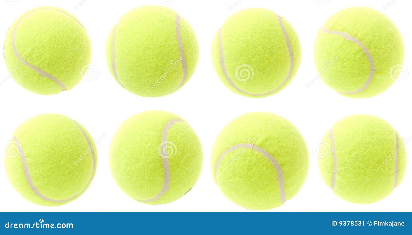 Tennis Balls Stock Image Image Of Ball Border Green 9378531