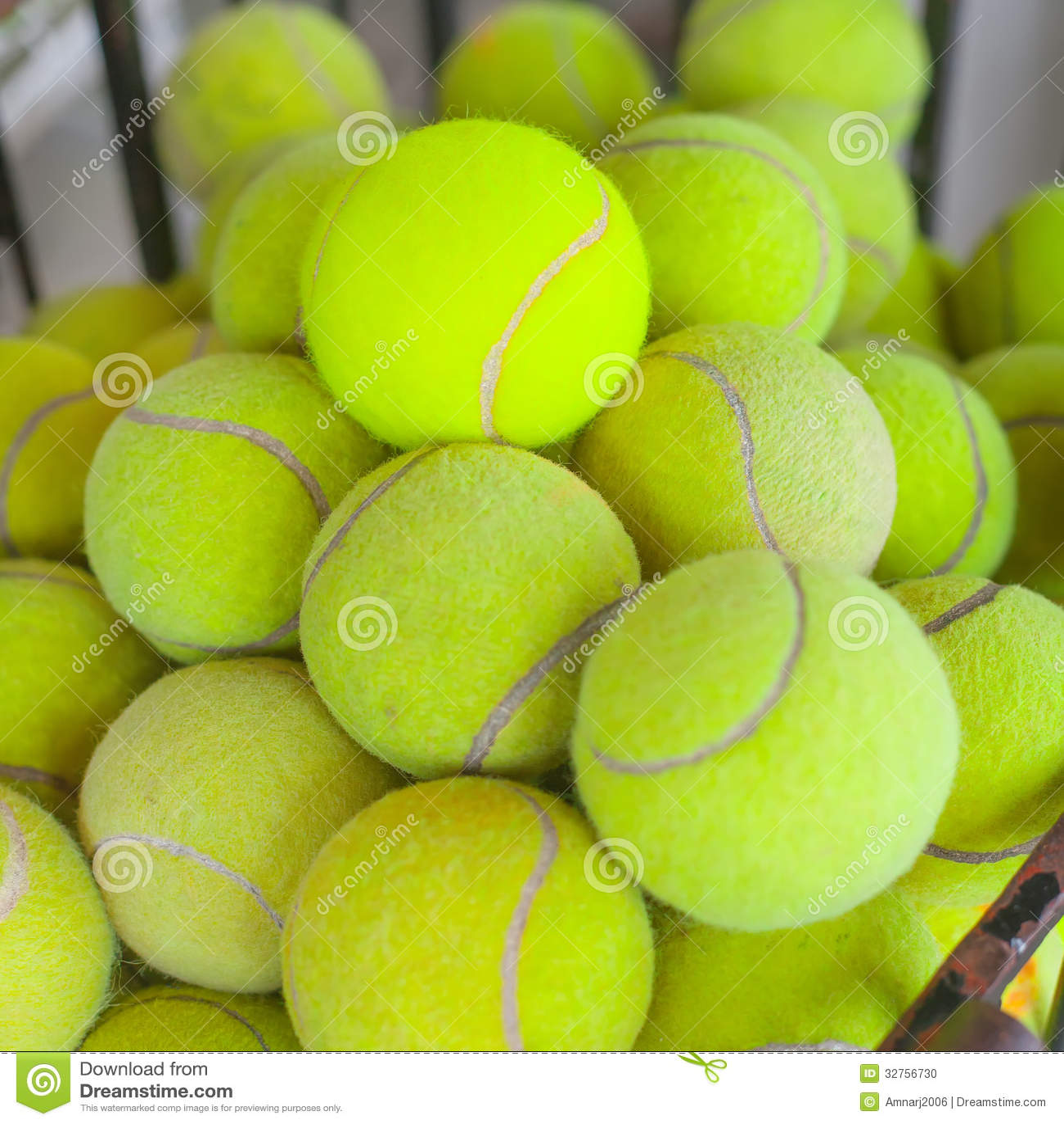 Tennis Balls Stock Photo - Image: 32756730