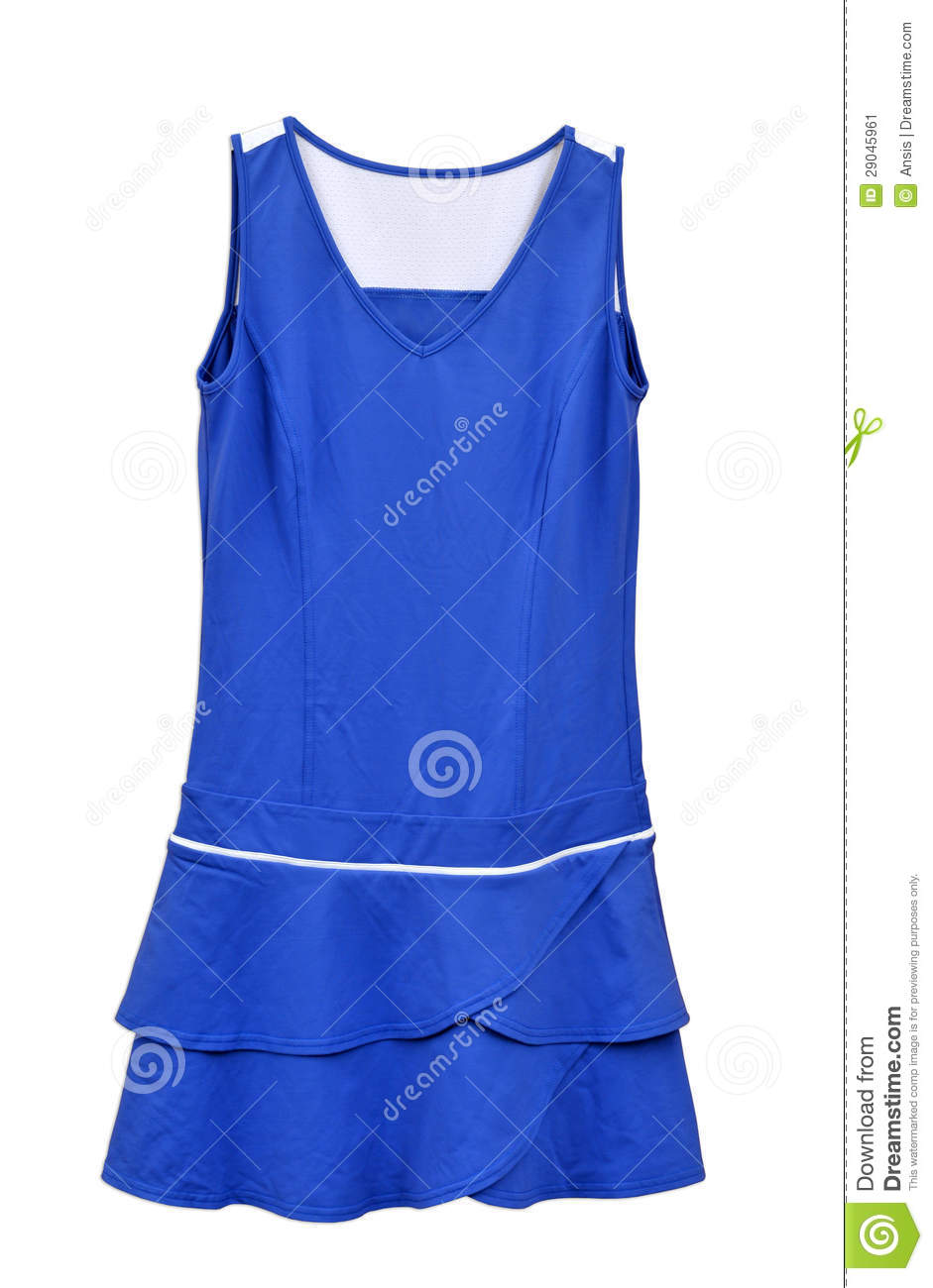 Stock Image: Tennis clothing for women
