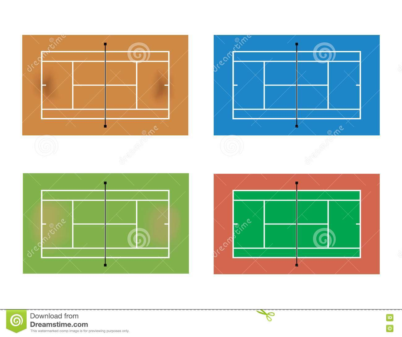 Tennis court stock images image 19672434
