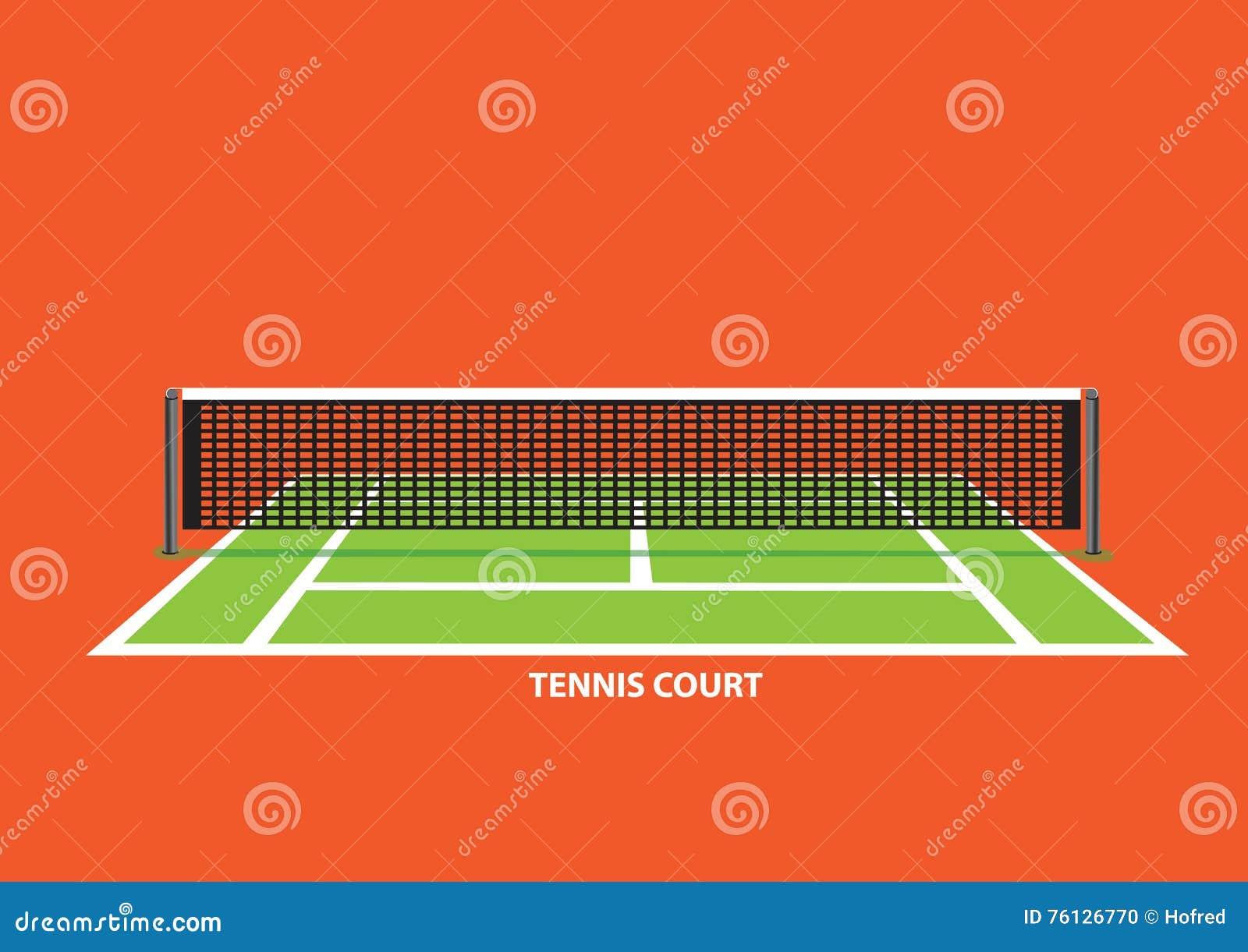 Tennis Court Net Stock Illustrations – 1,607 Tennis Court ... Tennis Net Vector